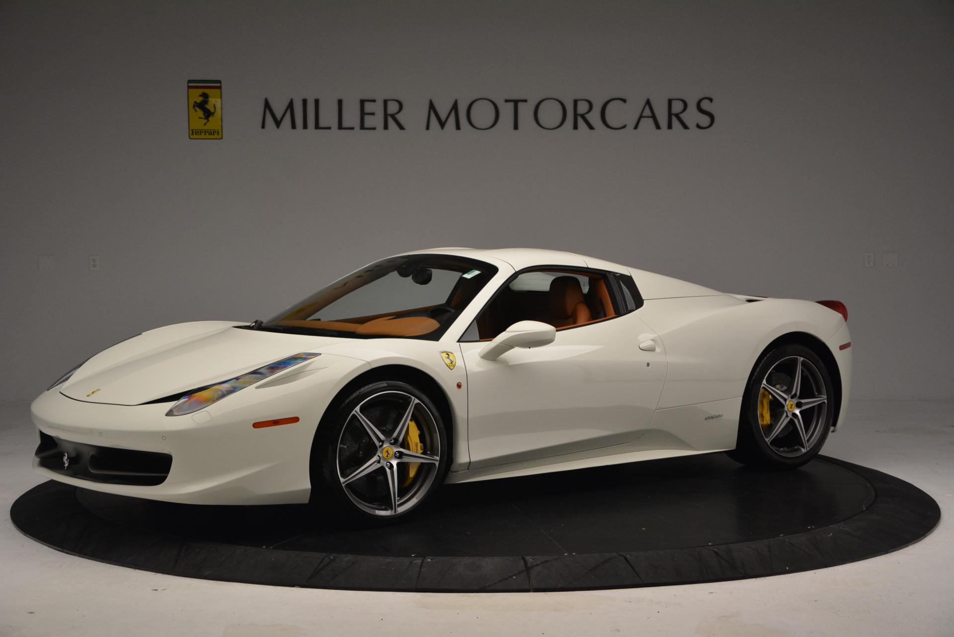 Used 2012 Ferrari 458 Spider  For Sale In Westport, CT 133_p14