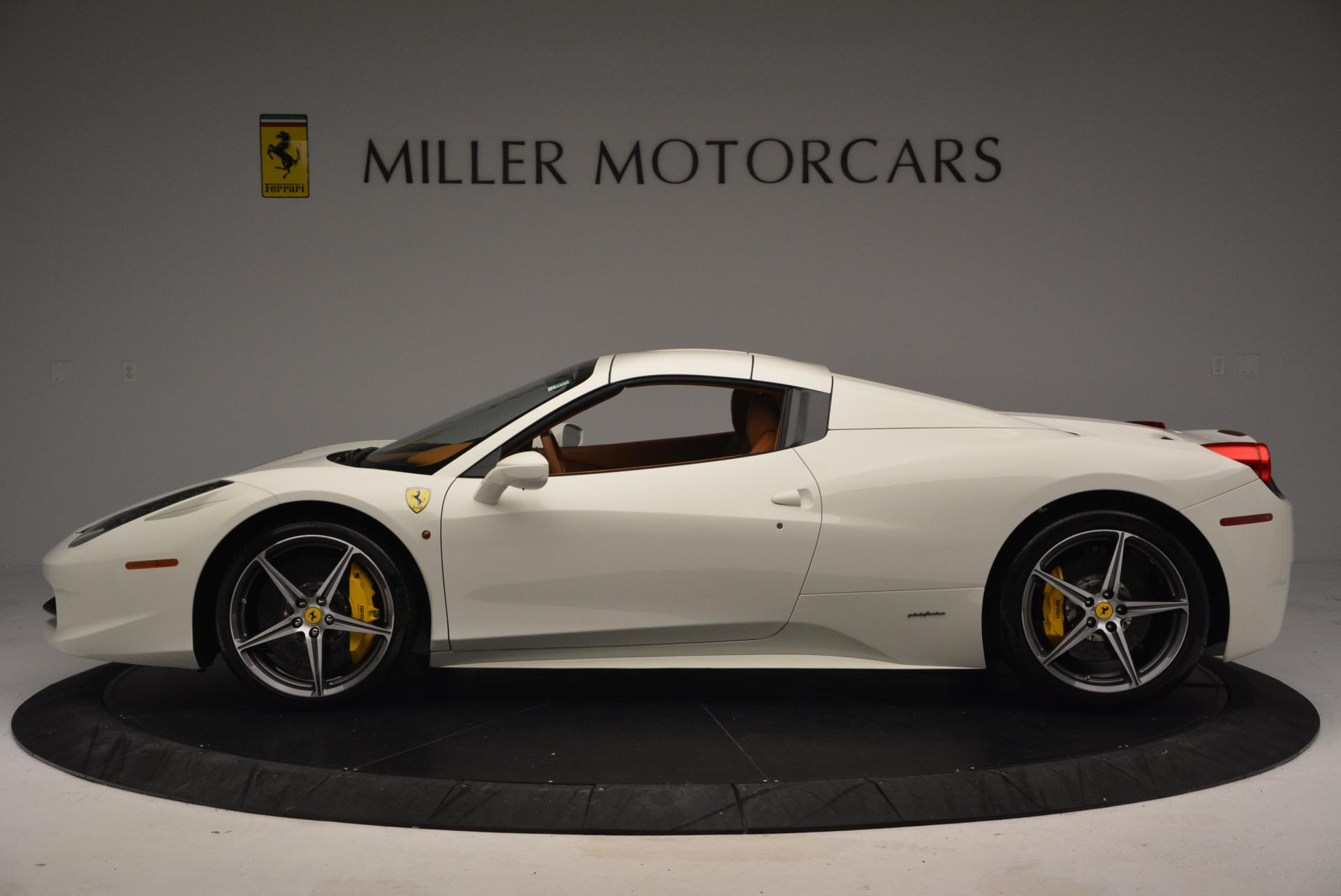 Used 2012 Ferrari 458 Spider  For Sale In Westport, CT 133_p15