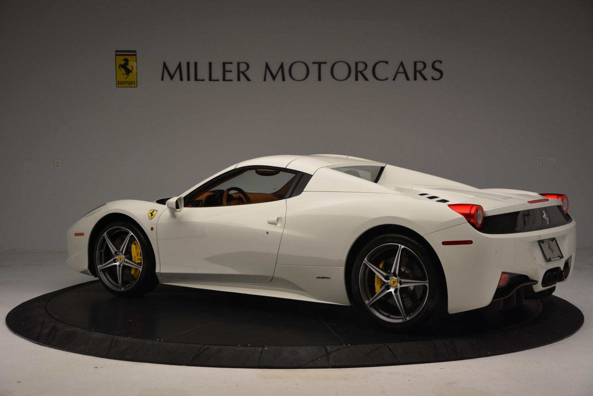 Used 2012 Ferrari 458 Spider  For Sale In Westport, CT 133_p16