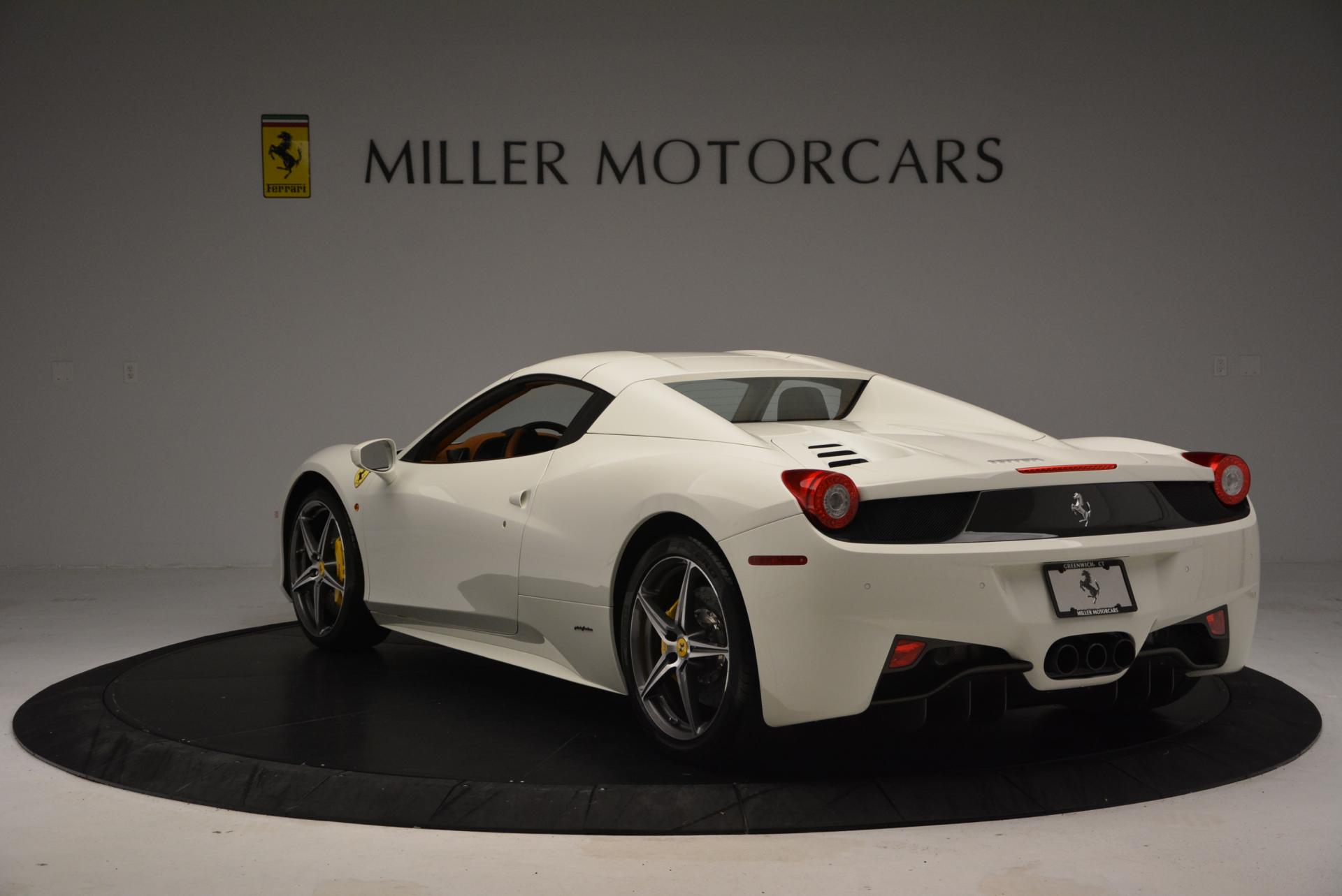 Used 2012 Ferrari 458 Spider  For Sale In Westport, CT 133_p17