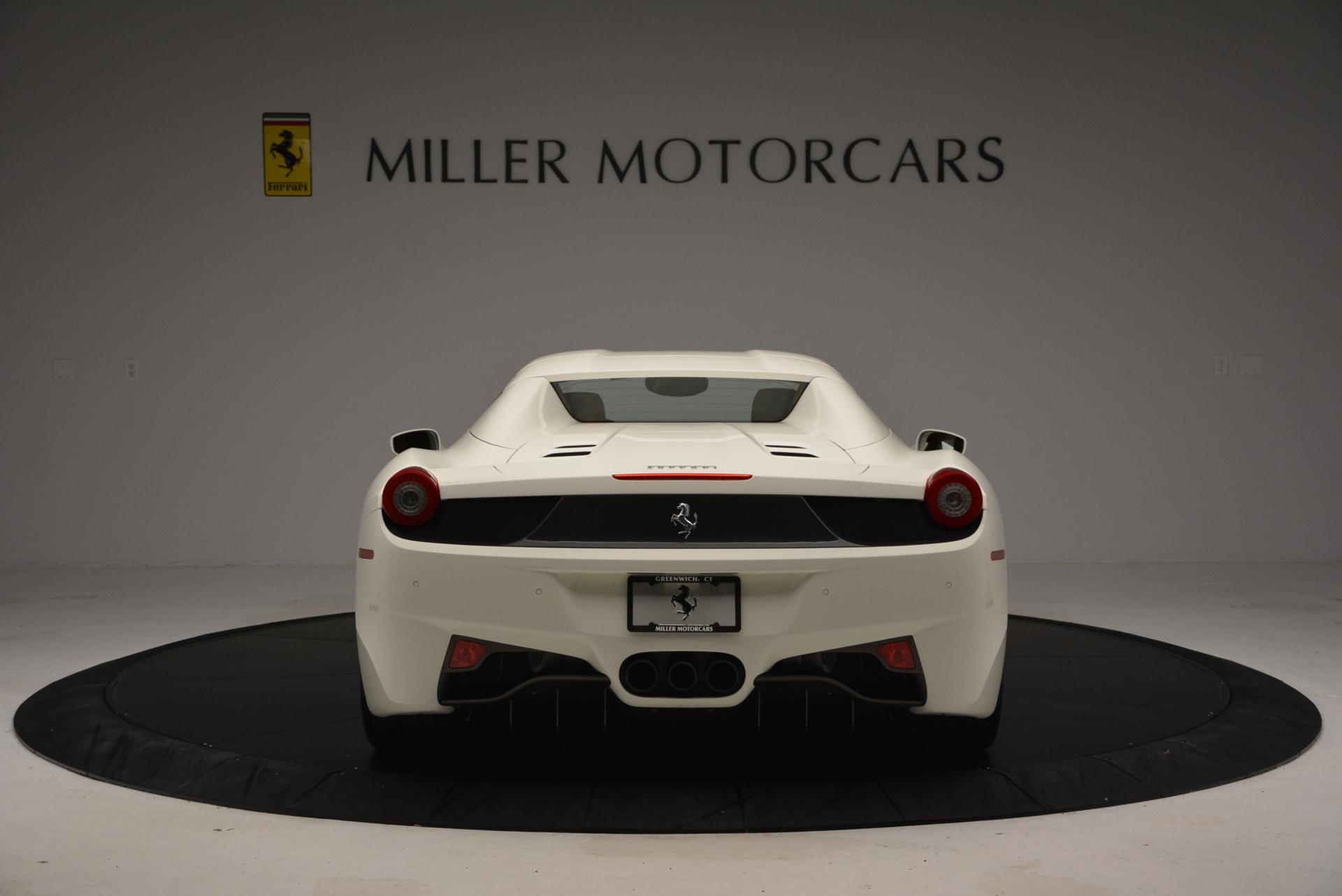 Used 2012 Ferrari 458 Spider  For Sale In Westport, CT 133_p18