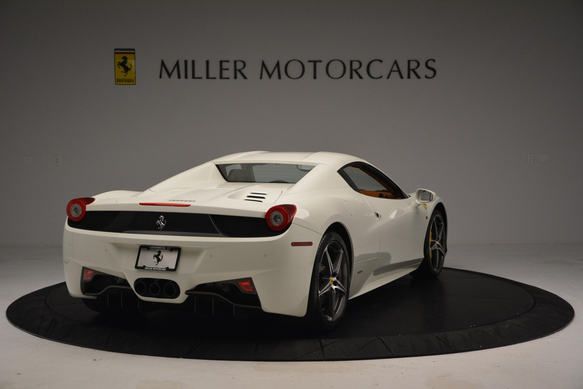 Used 2012 Ferrari 458 Spider  For Sale In Westport, CT 133_p19