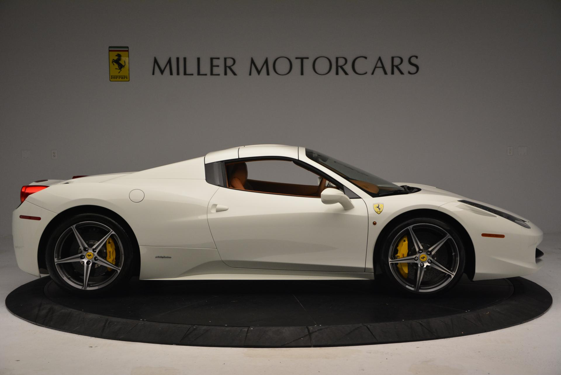 Used 2012 Ferrari 458 Spider  For Sale In Westport, CT 133_p21