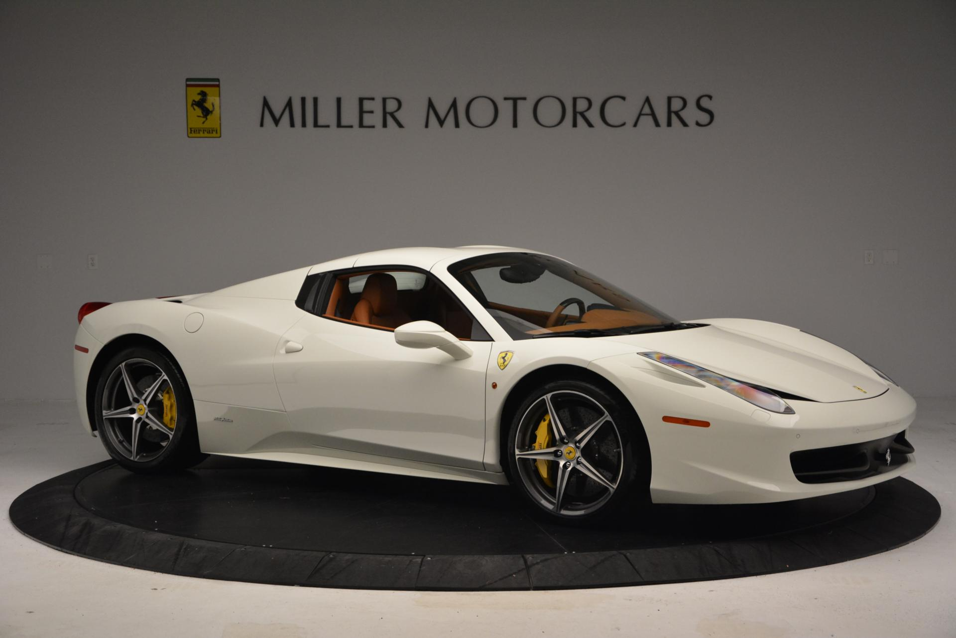 Used 2012 Ferrari 458 Spider  For Sale In Westport, CT 133_p22