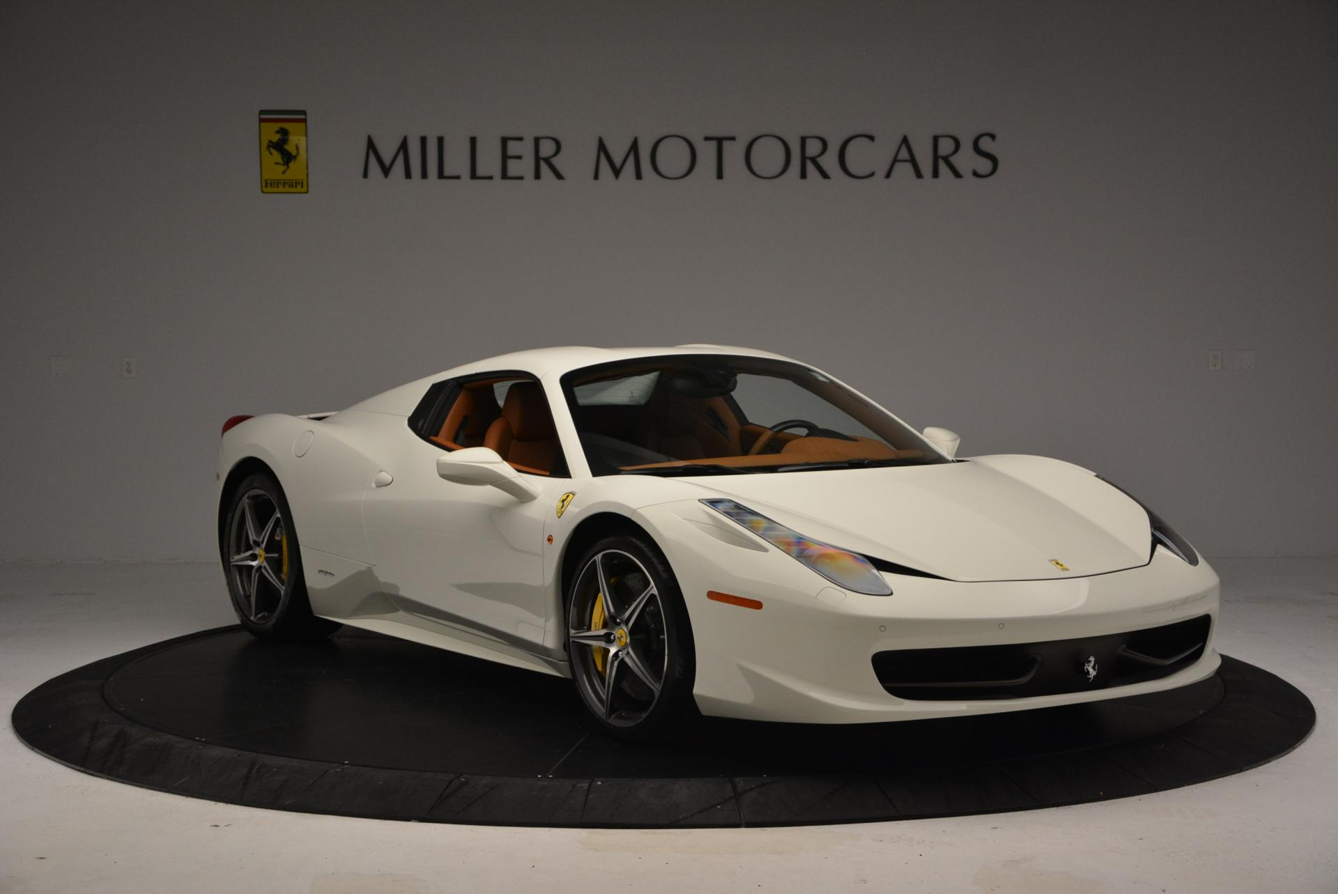 Used 2012 Ferrari 458 Spider  For Sale In Westport, CT 133_p23