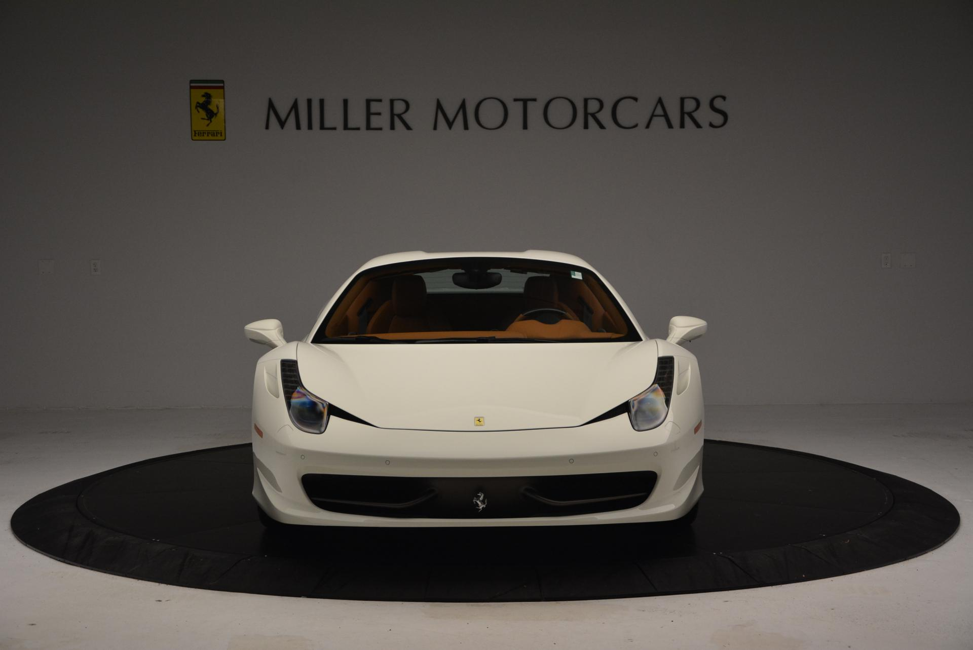 Used 2012 Ferrari 458 Spider  For Sale In Westport, CT 133_p24