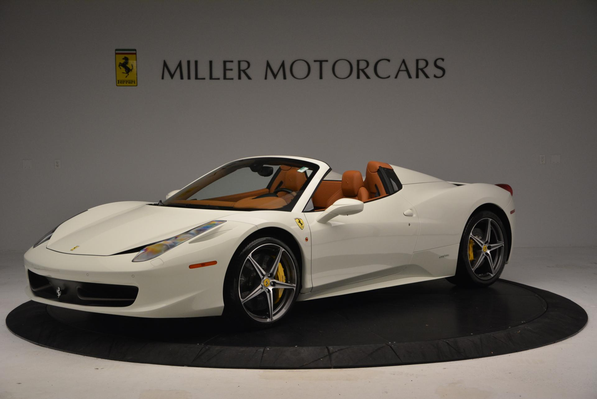 Used 2012 Ferrari 458 Spider  For Sale In Westport, CT 133_p2