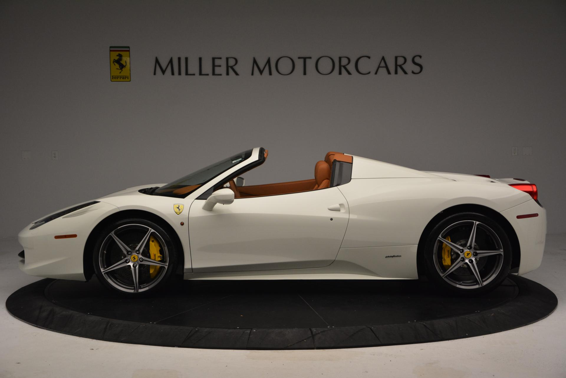 Used 2012 Ferrari 458 Spider  For Sale In Westport, CT 133_p3