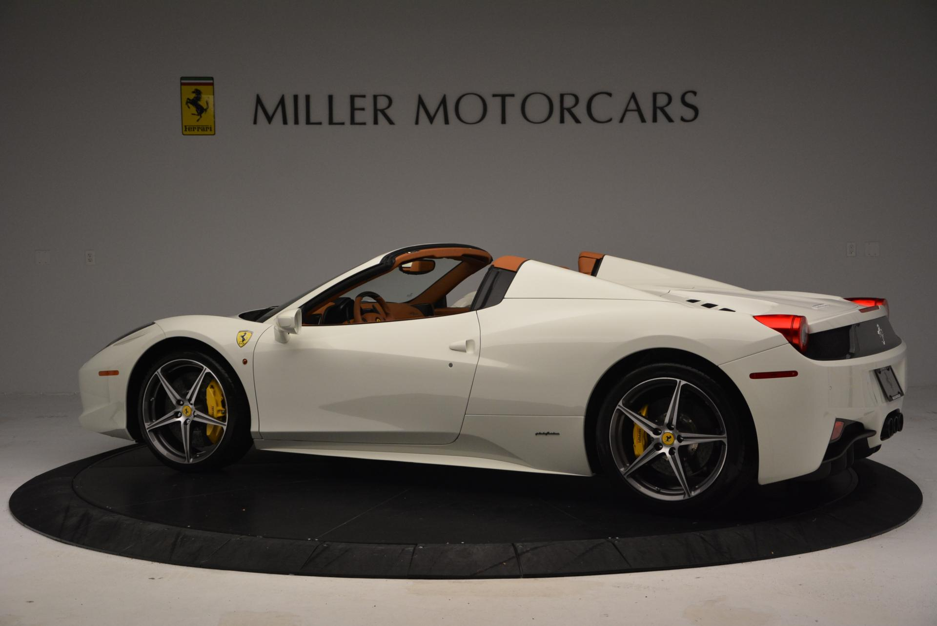 Used 2012 Ferrari 458 Spider  For Sale In Westport, CT 133_p4