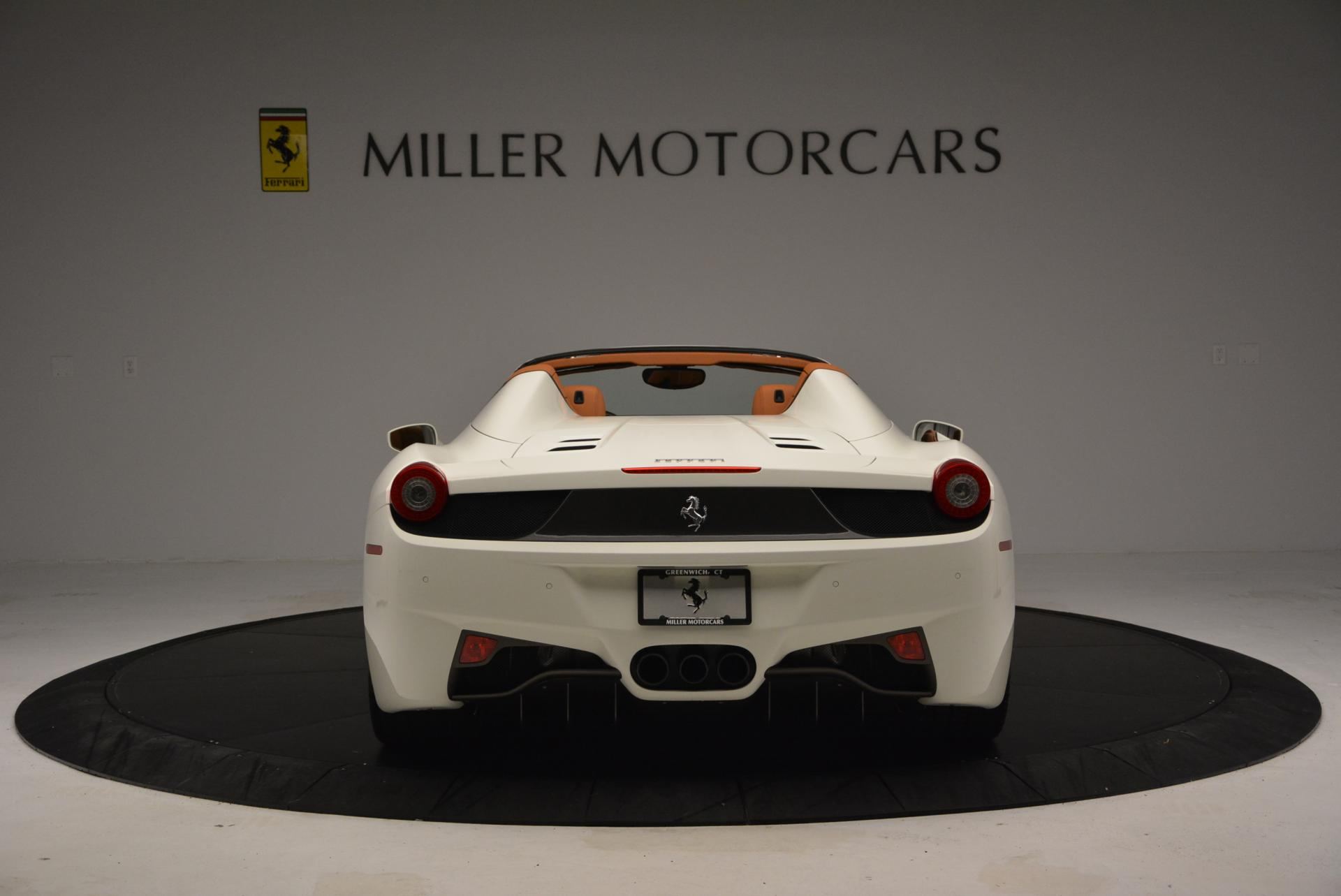 Used 2012 Ferrari 458 Spider  For Sale In Westport, CT 133_p6