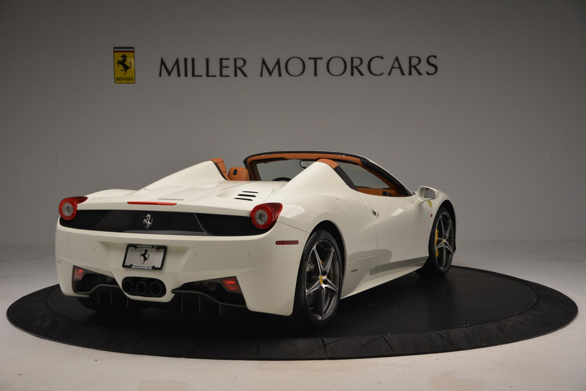 Used 2012 Ferrari 458 Spider  For Sale In Westport, CT 133_p7