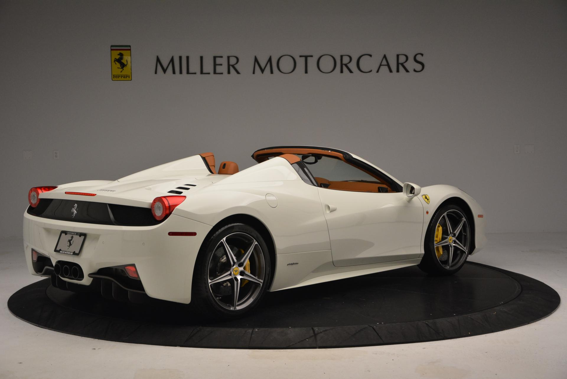 Used 2012 Ferrari 458 Spider  For Sale In Westport, CT 133_p8