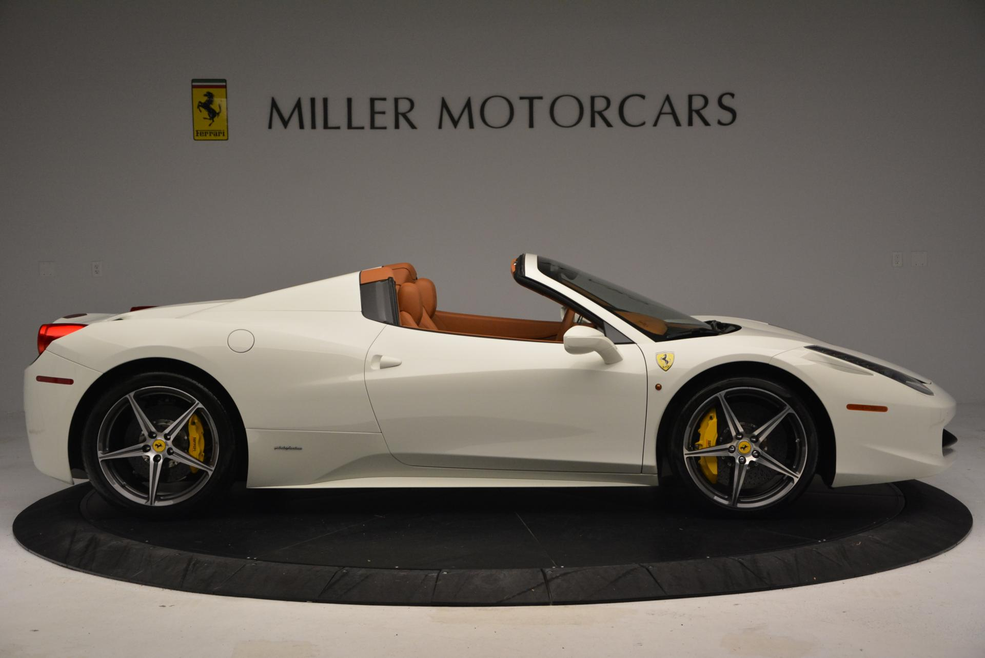 Used 2012 Ferrari 458 Spider  For Sale In Westport, CT 133_p9
