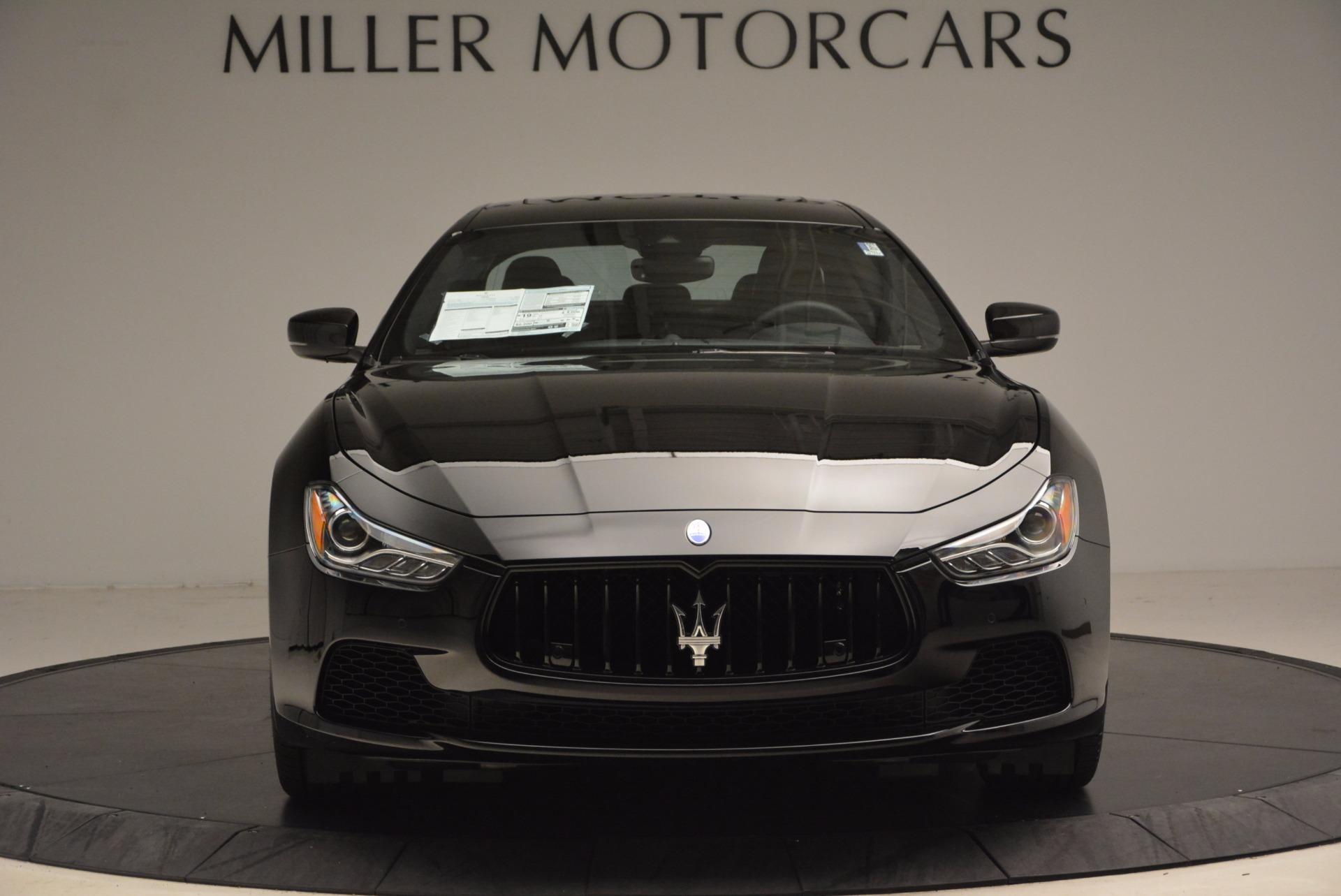 New 2017 Maserati Ghibli SQ4 S Q4 Nerissimo Edition For Sale In Westport, CT 1334_p12