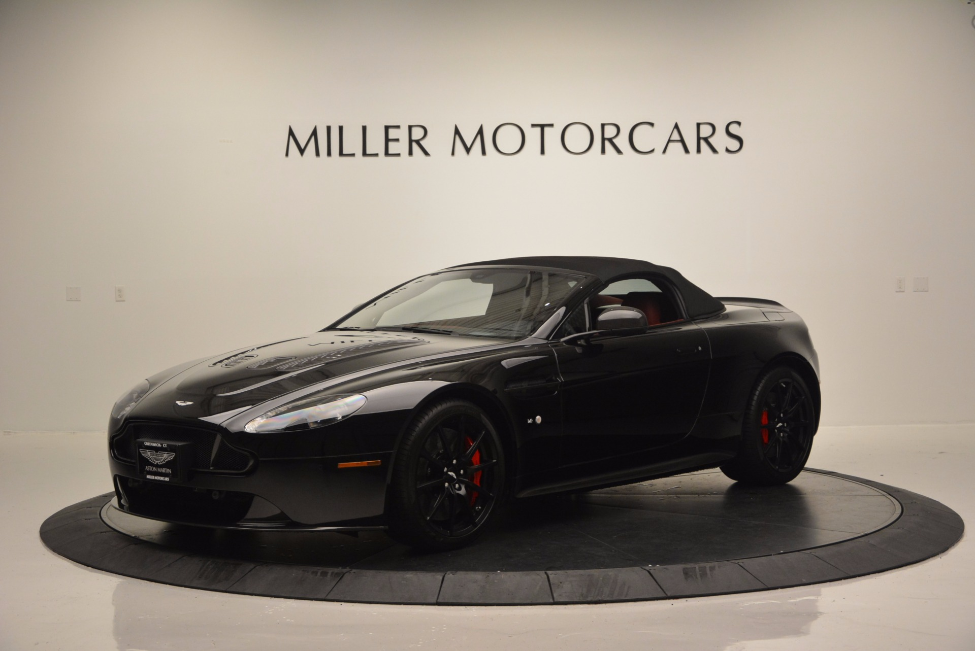 Used 2015 Aston Martin V12 Vantage S Roadster For Sale In Westport, CT 1335_p14