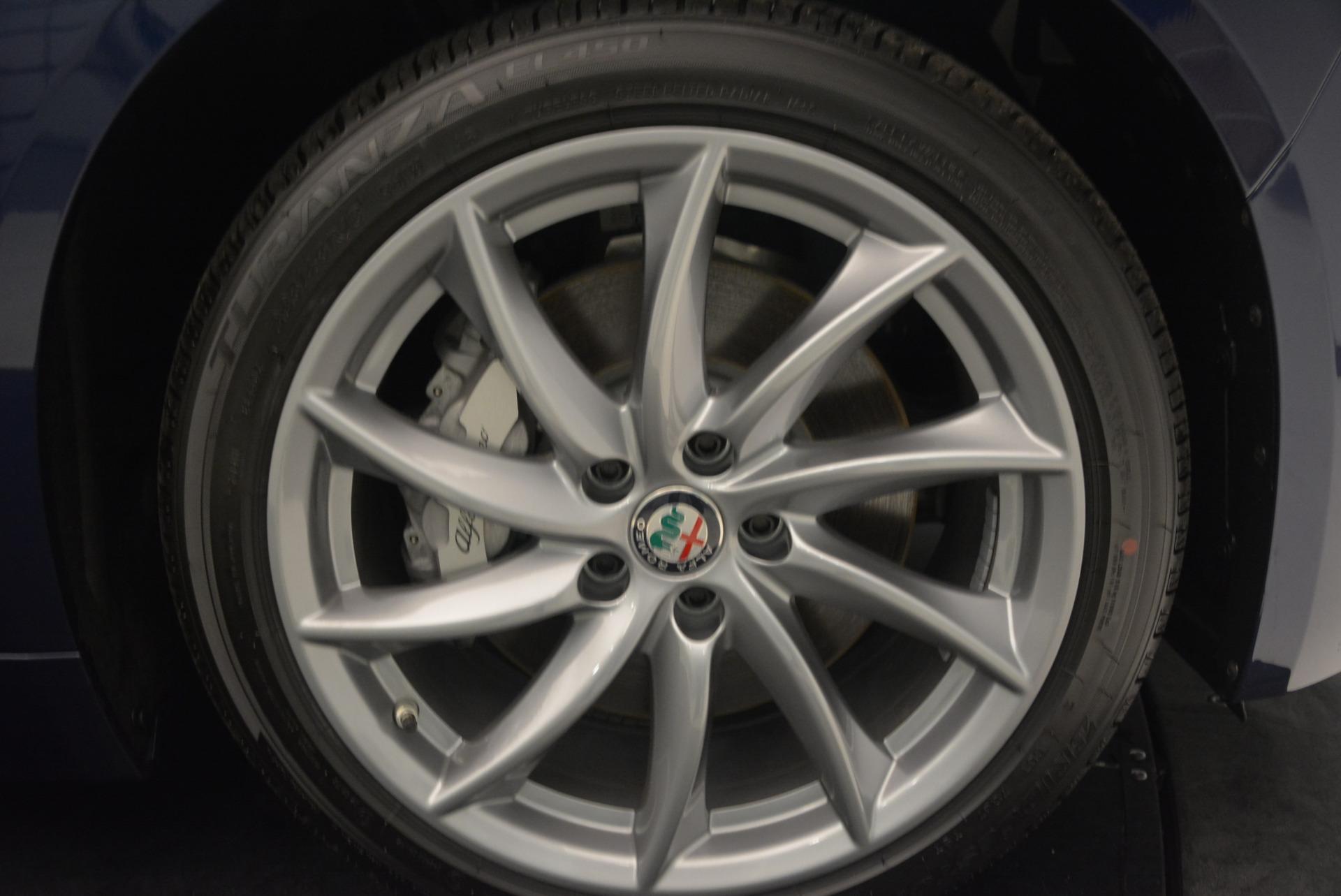 New 2017 Alfa Romeo Giulia Q4 For Sale In Westport, CT 1339_p25