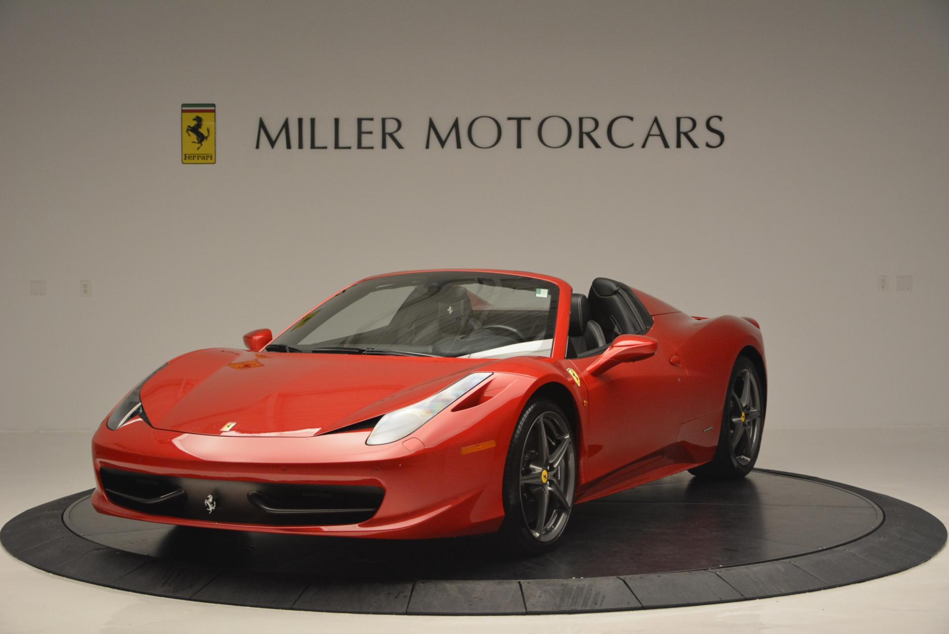 Used 2013 Ferrari 458 Spider  For Sale In Westport, CT 136_main