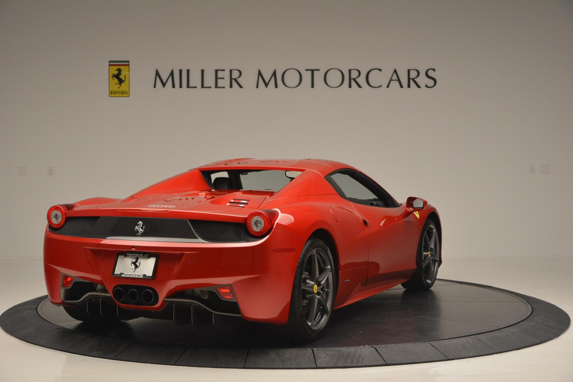 Used 2013 Ferrari 458 Spider  For Sale In Westport, CT 136_p19