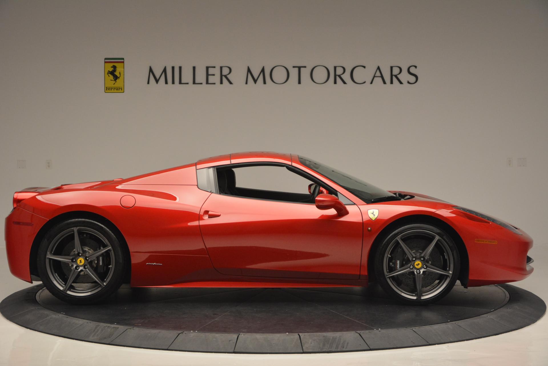 Used 2013 Ferrari 458 Spider  For Sale In Westport, CT 136_p21