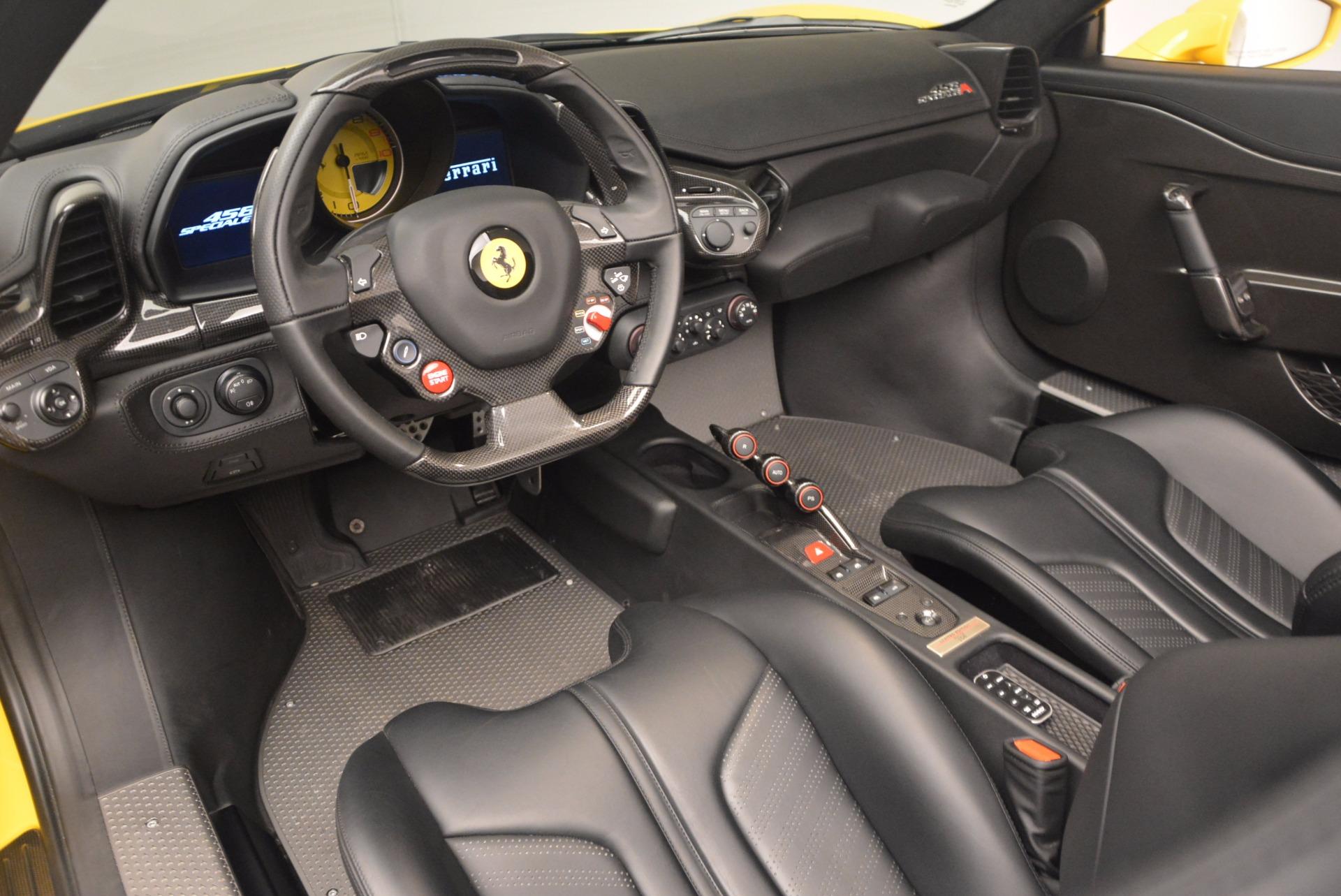 Used 2015 Ferrari 458 Speciale Aperta  For Sale In Westport, CT 1360_p25
