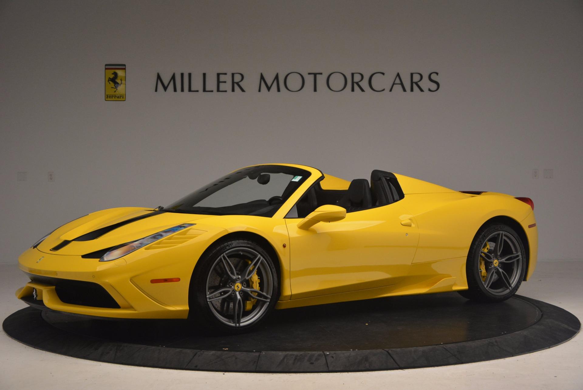 Used 2015 Ferrari 458 Speciale Aperta  For Sale In Westport, CT 1360_p2
