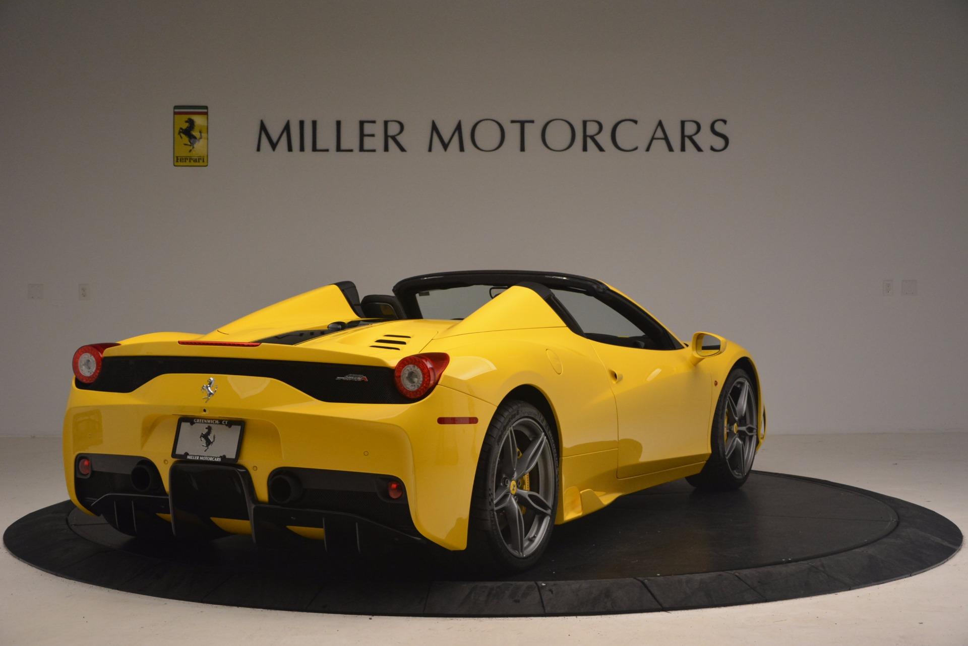 Used 2015 Ferrari 458 Speciale Aperta  For Sale In Westport, CT 1360_p7