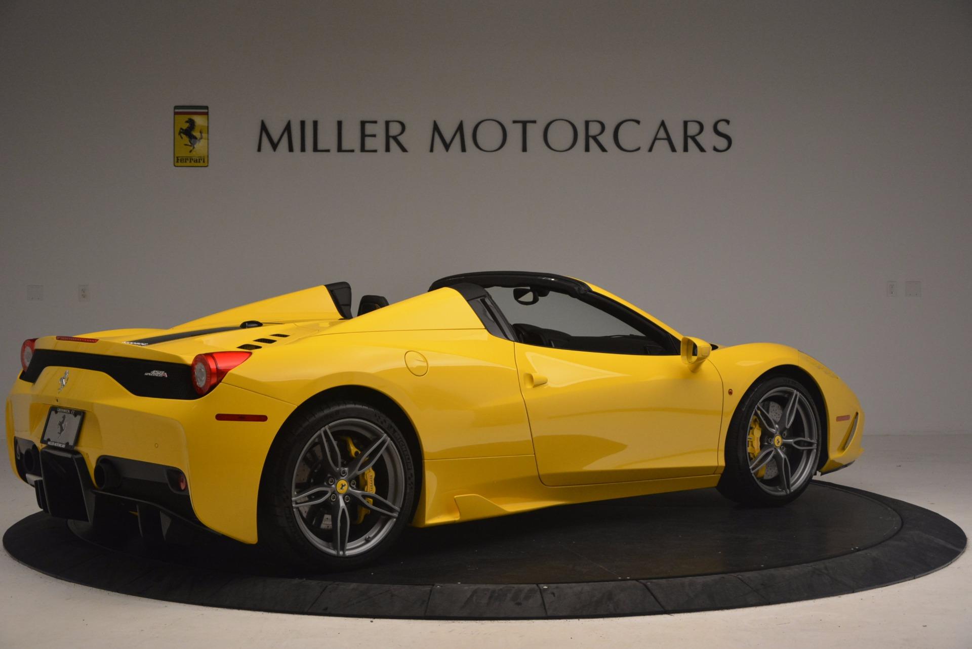 Used 2015 Ferrari 458 Speciale Aperta  For Sale In Westport, CT 1360_p8