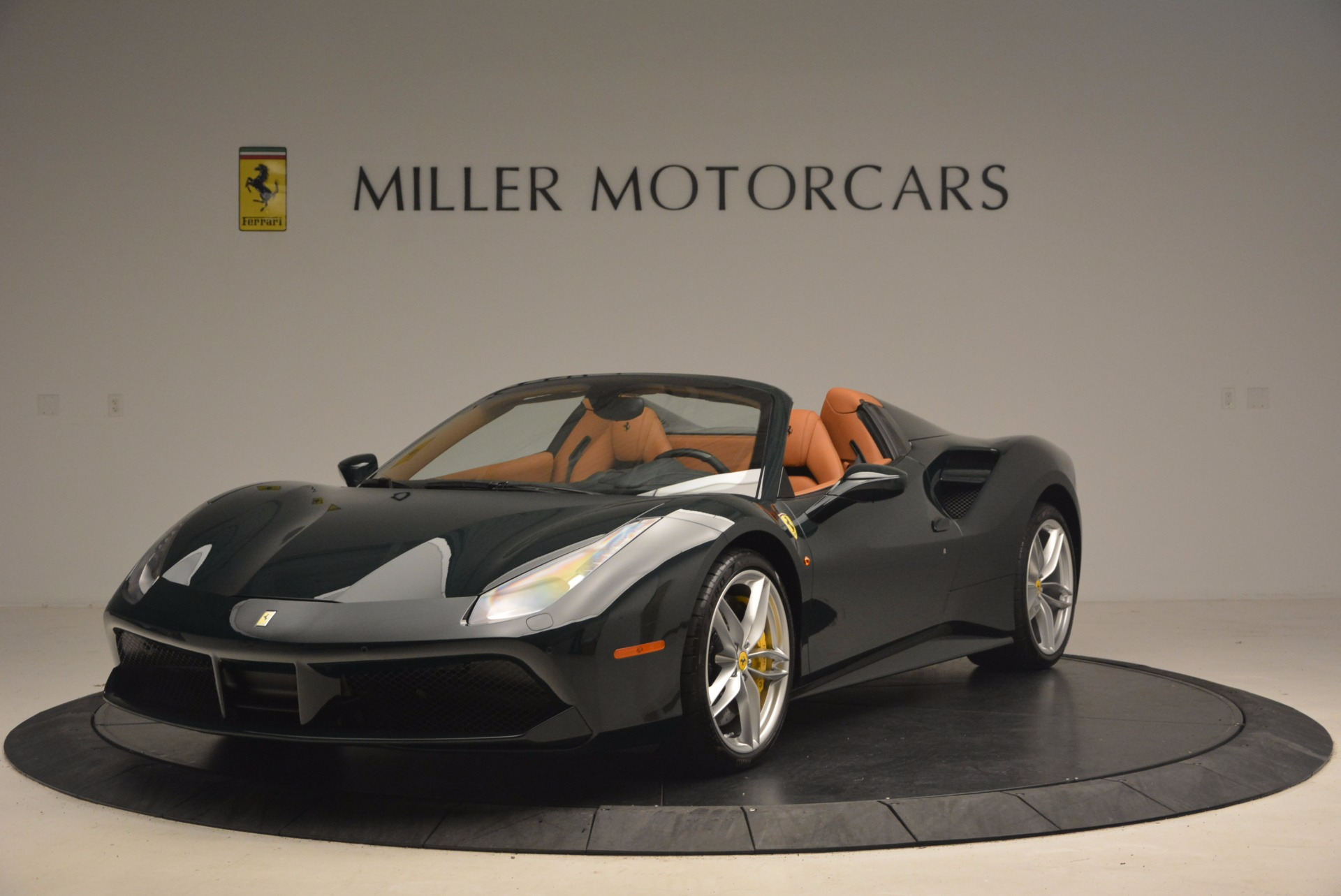 Used 2016 Ferrari 488 Spider  For Sale In Westport, CT 1361_main