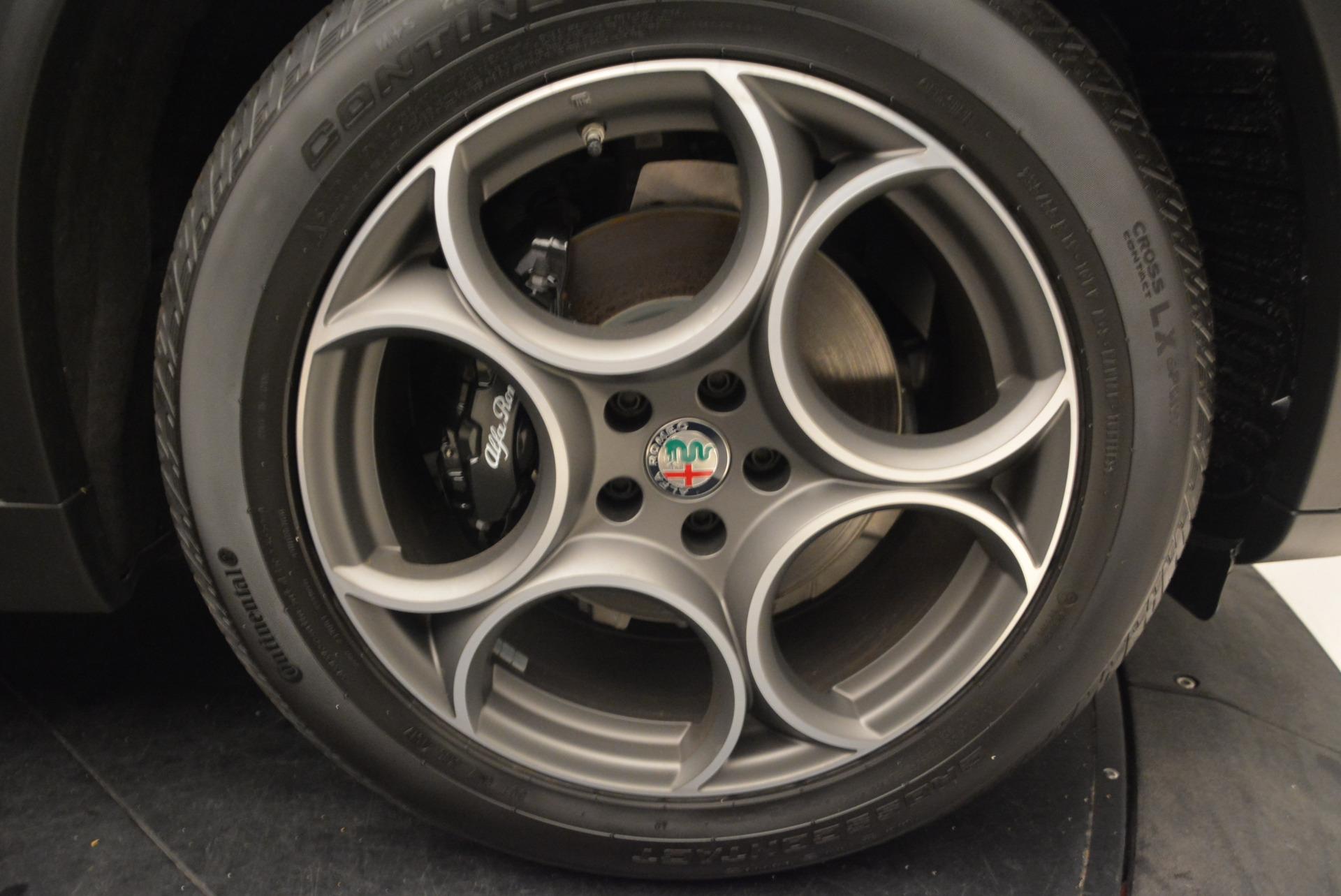 New 2018 Alfa Romeo Stelvio Sport Q4 For Sale In Westport, CT 1367_p25