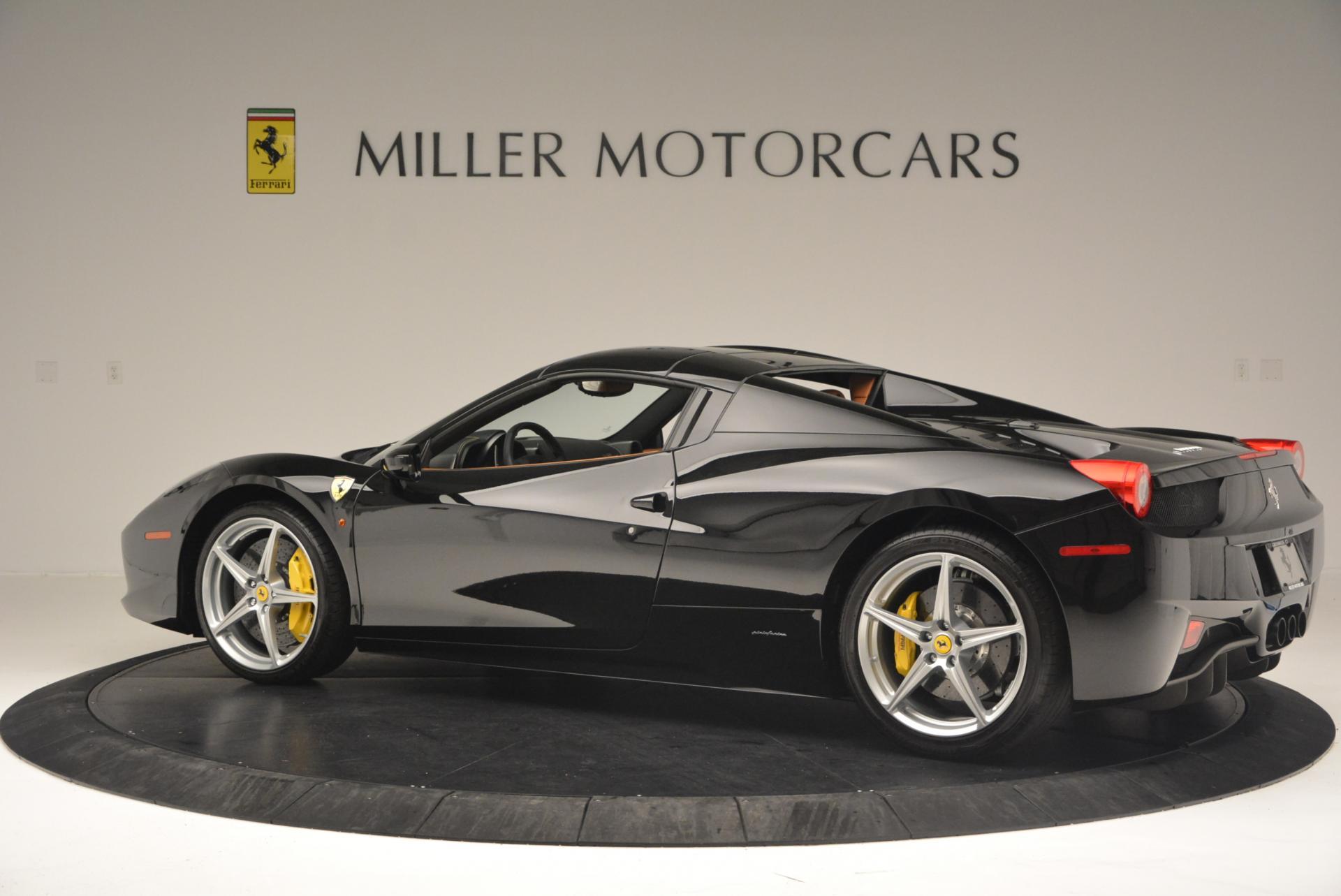 Used 2015 Ferrari 458 Spider  For Sale In Westport, CT 137_p16