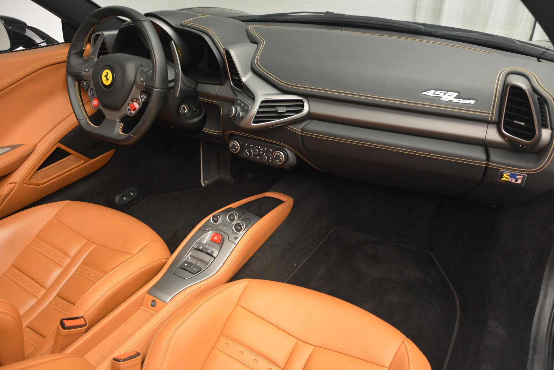 Used 2015 Ferrari 458 Spider  For Sale In Westport, CT 137_p29