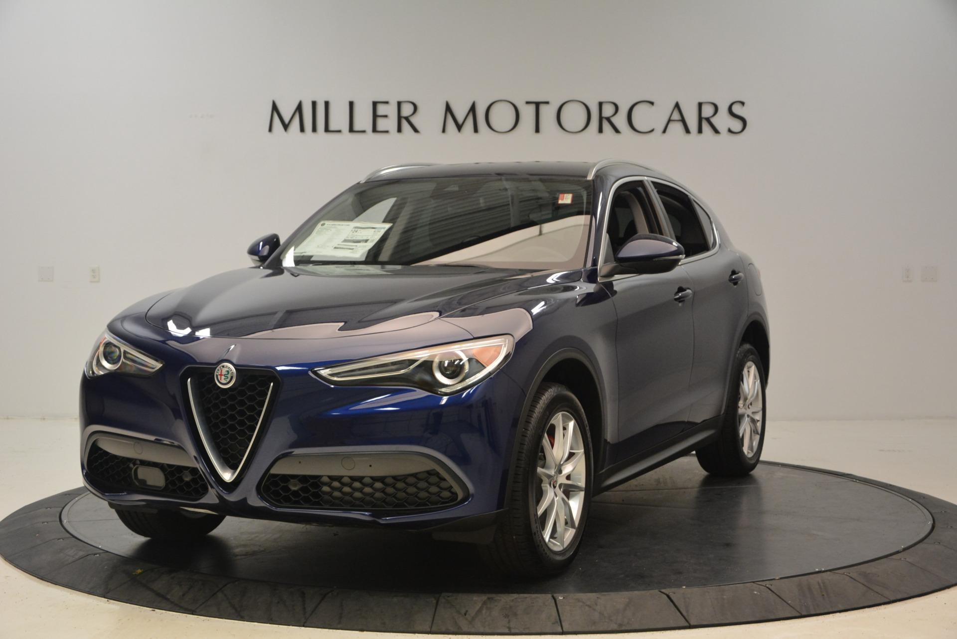 New 2018 Alfa Romeo Stelvio Ti Q4 For Sale In Westport, CT 1373_main