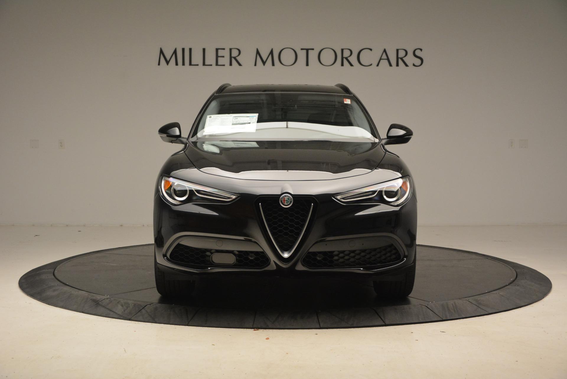 New 2018 Alfa Romeo Stelvio Sport Q4 For Sale In Westport, CT 1377_p12