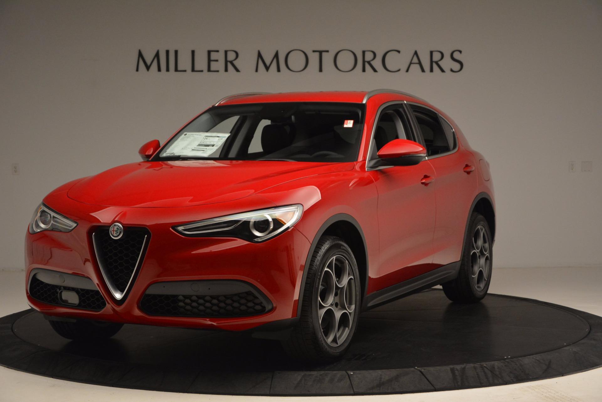 New 2018 Alfa Romeo Stelvio  For Sale In Westport, CT 1379_main
