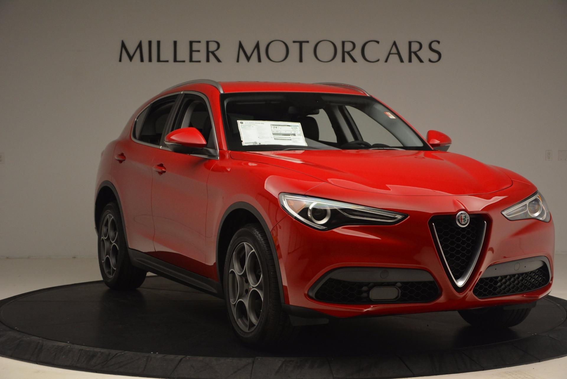 New 2018 Alfa Romeo Stelvio  For Sale In Westport, CT 1379_p11