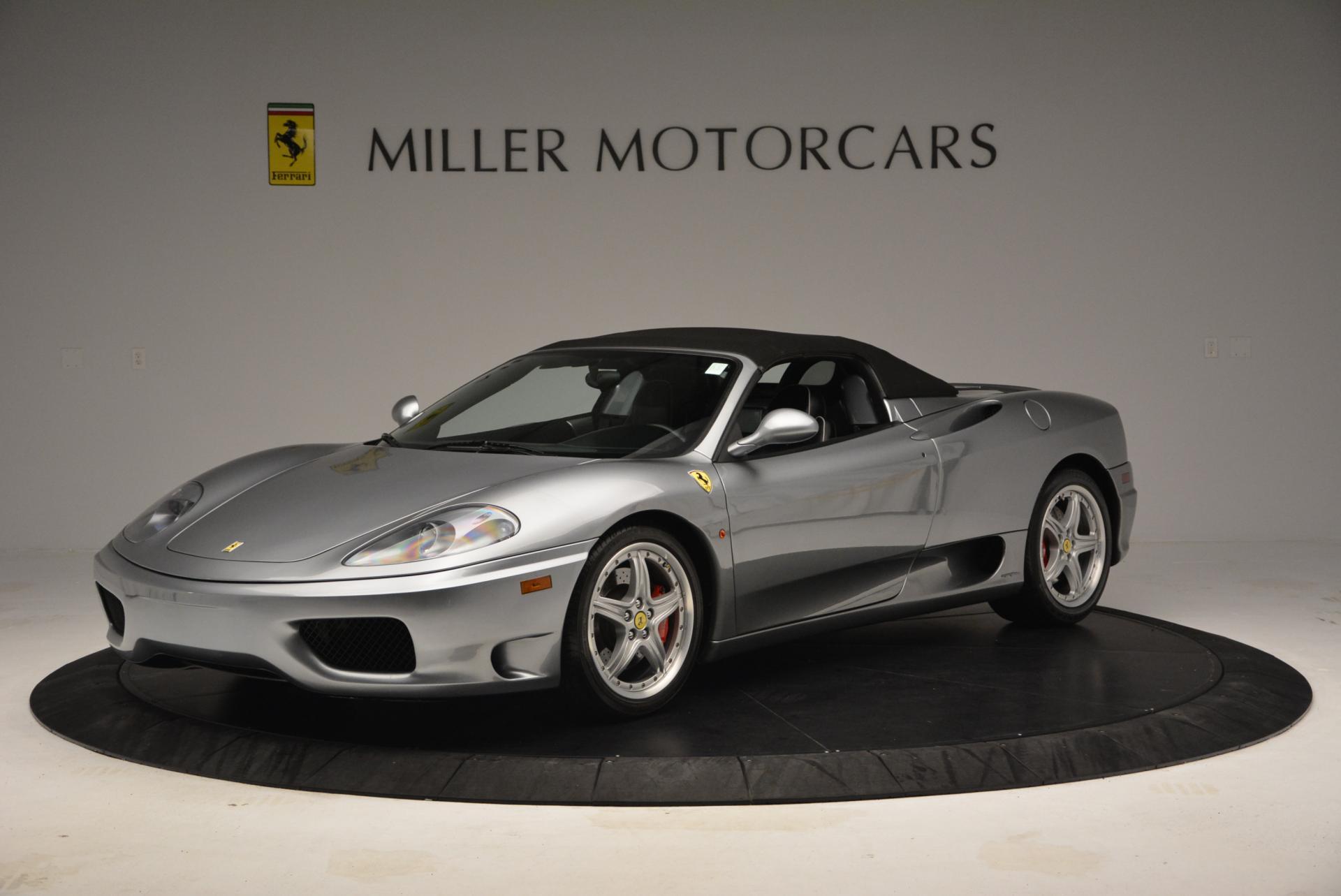 Used 2004 Ferrari 360 Spider 6-Speed Manual  For Sale In Westport, CT 138_p14