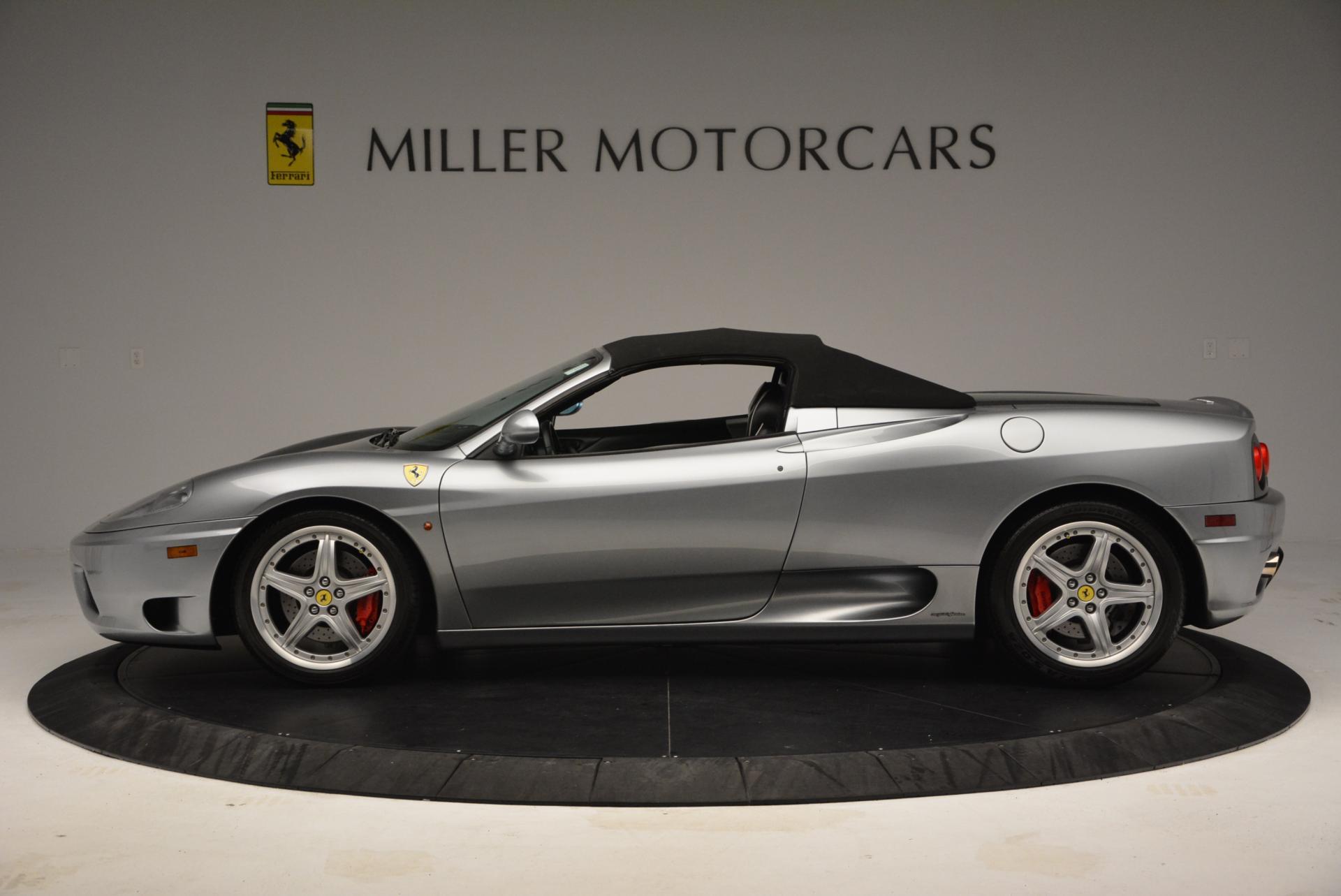 Used 2004 Ferrari 360 Spider 6-Speed Manual  For Sale In Westport, CT 138_p15