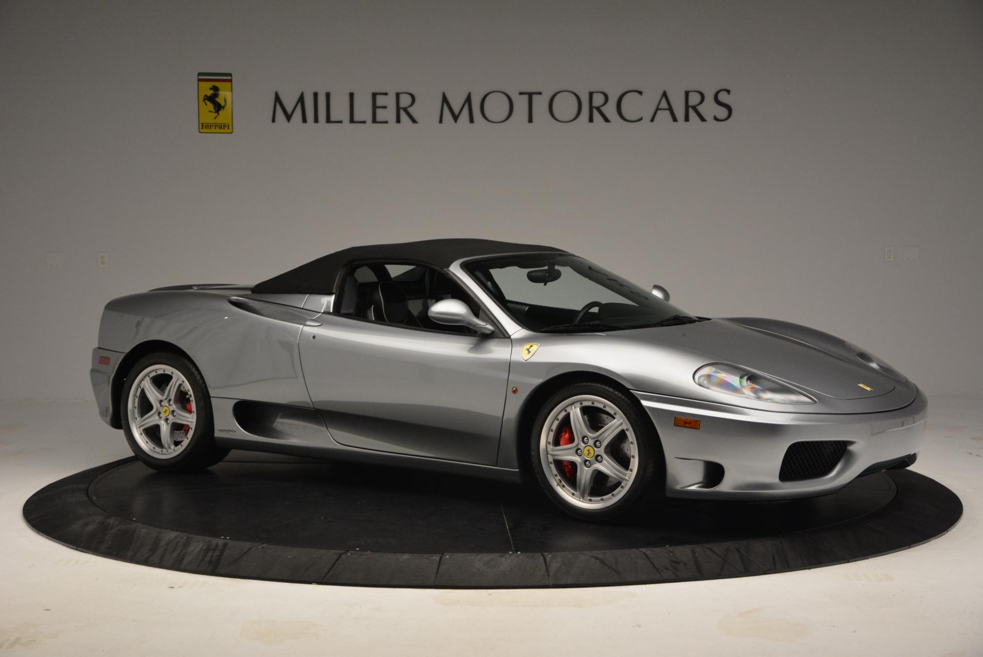Used 2004 Ferrari 360 Spider 6-Speed Manual  For Sale In Westport, CT 138_p22