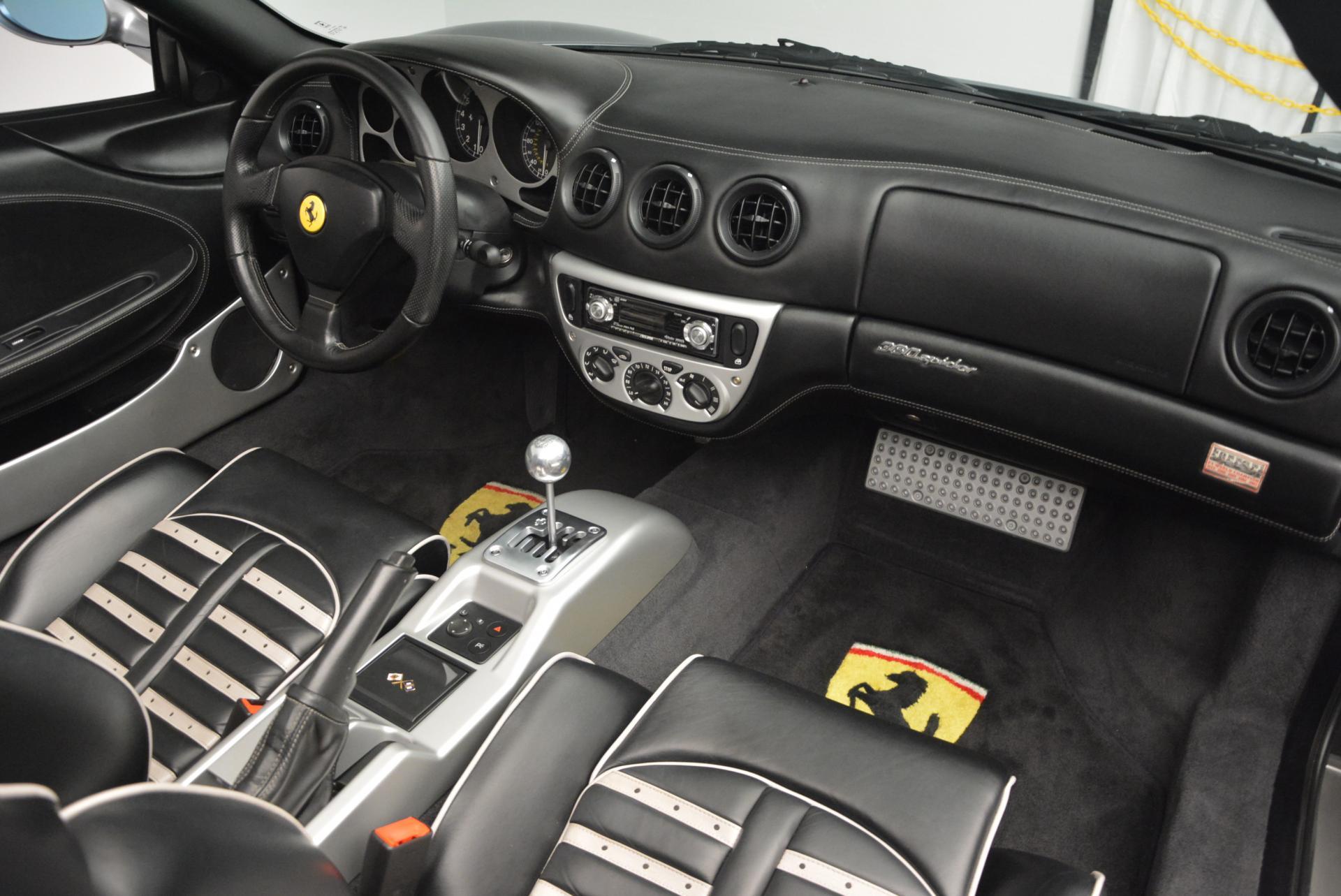 Used 2004 Ferrari 360 Spider 6-Speed Manual  For Sale In Westport, CT 138_p29