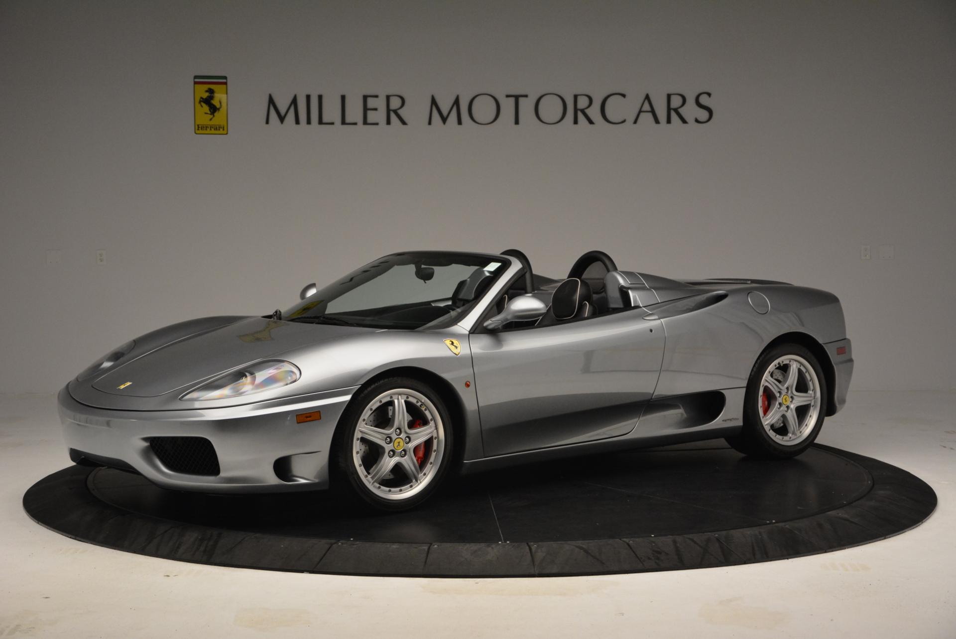Used 2004 Ferrari 360 Spider 6-Speed Manual  For Sale In Westport, CT 138_p2