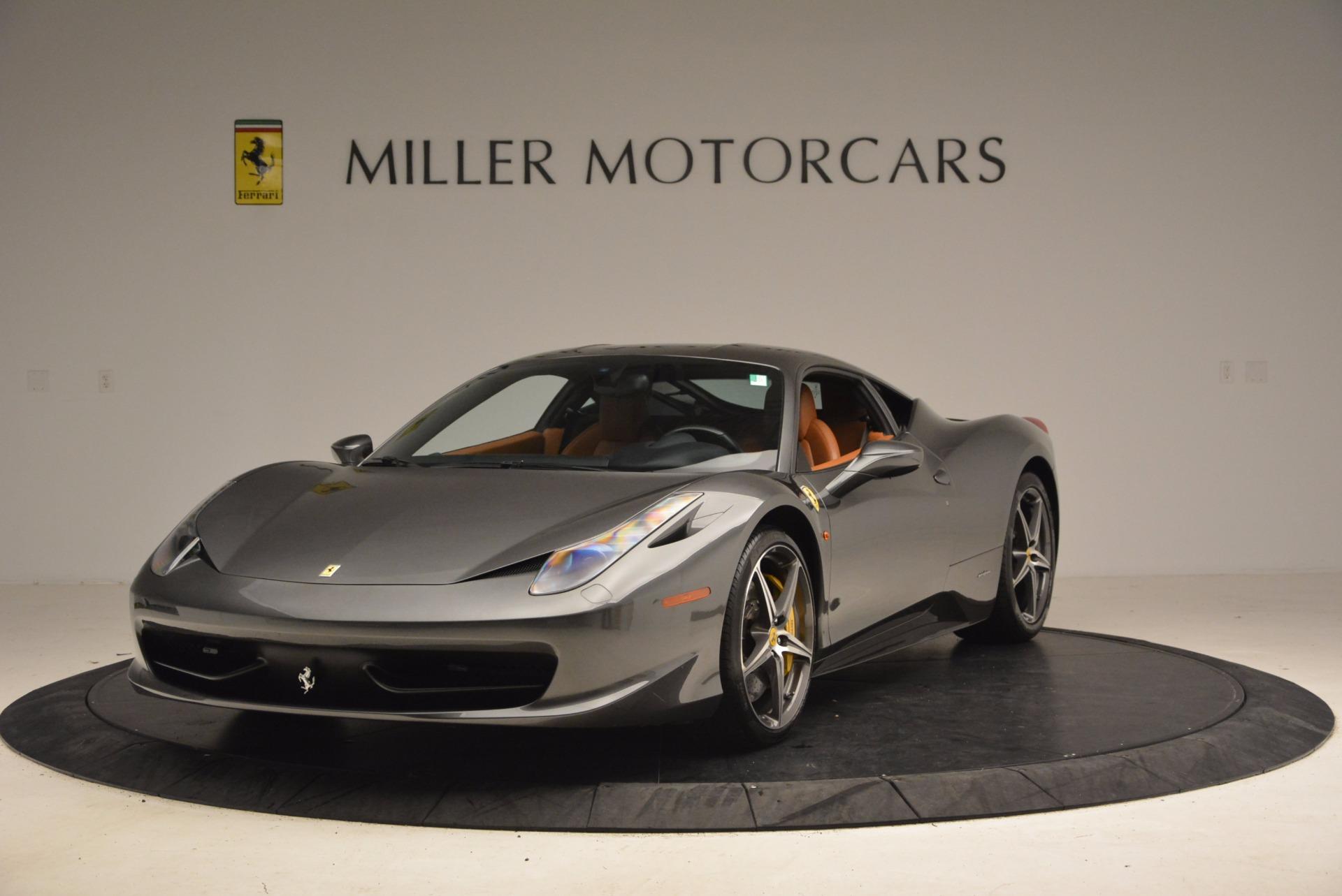 Used 2011 Ferrari 458 Italia  For Sale In Westport, CT 1385_main