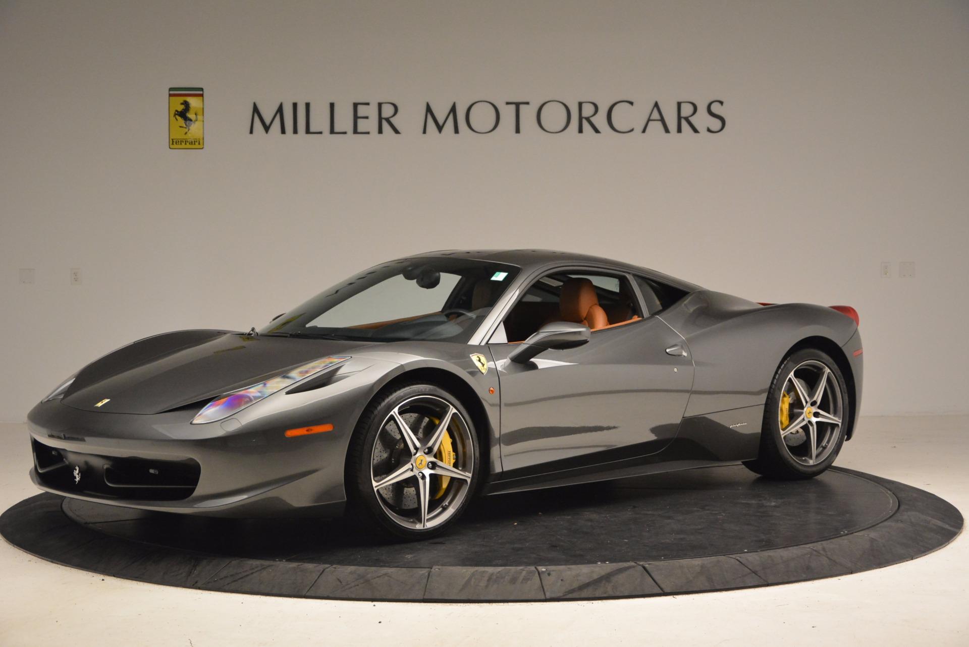 Used 2011 Ferrari 458 Italia  For Sale In Westport, CT 1385_p2