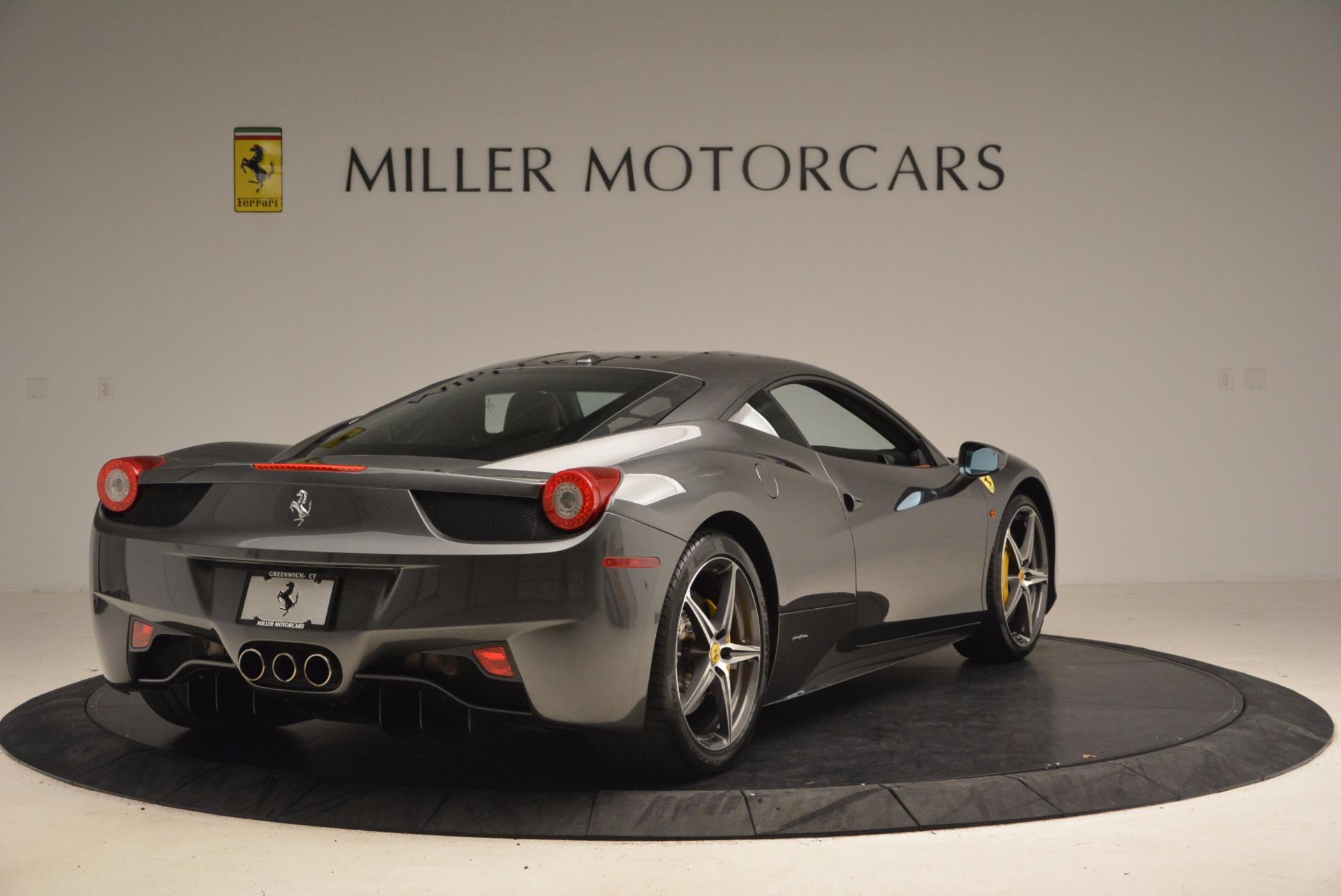 Used 2011 Ferrari 458 Italia  For Sale In Westport, CT 1385_p7