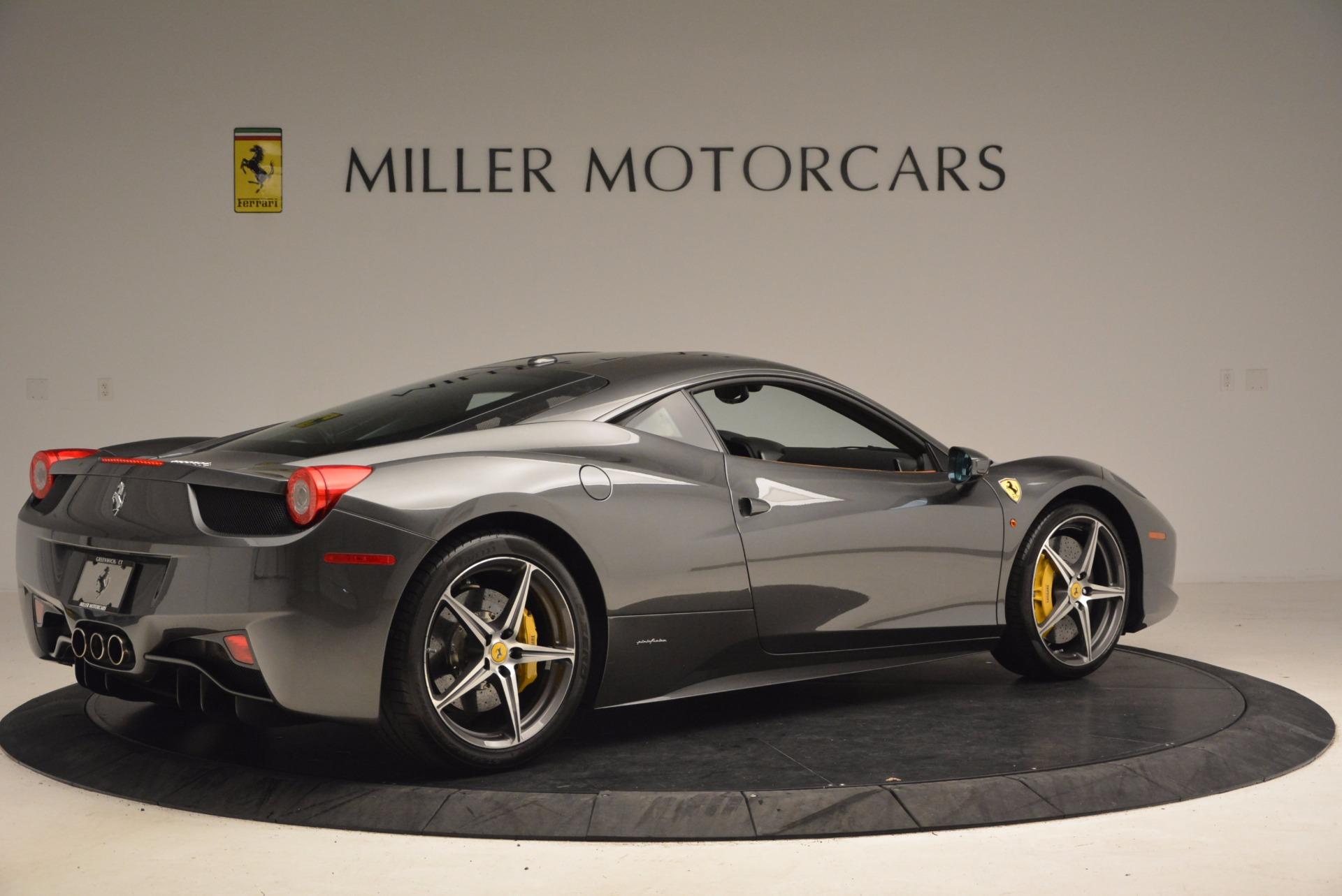 Used 2011 Ferrari 458 Italia  For Sale In Westport, CT 1385_p8