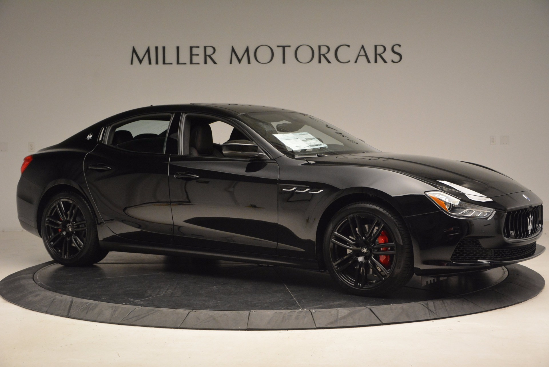New 2017 Maserati Ghibli Nerissimo Edition S Q4 For Sale In Westport, CT 1391_p10