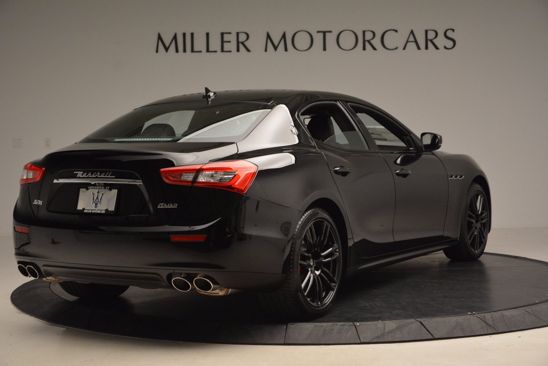 New 2017 Maserati Ghibli Nerissimo Edition S Q4 For Sale In Westport, CT 1391_p7
