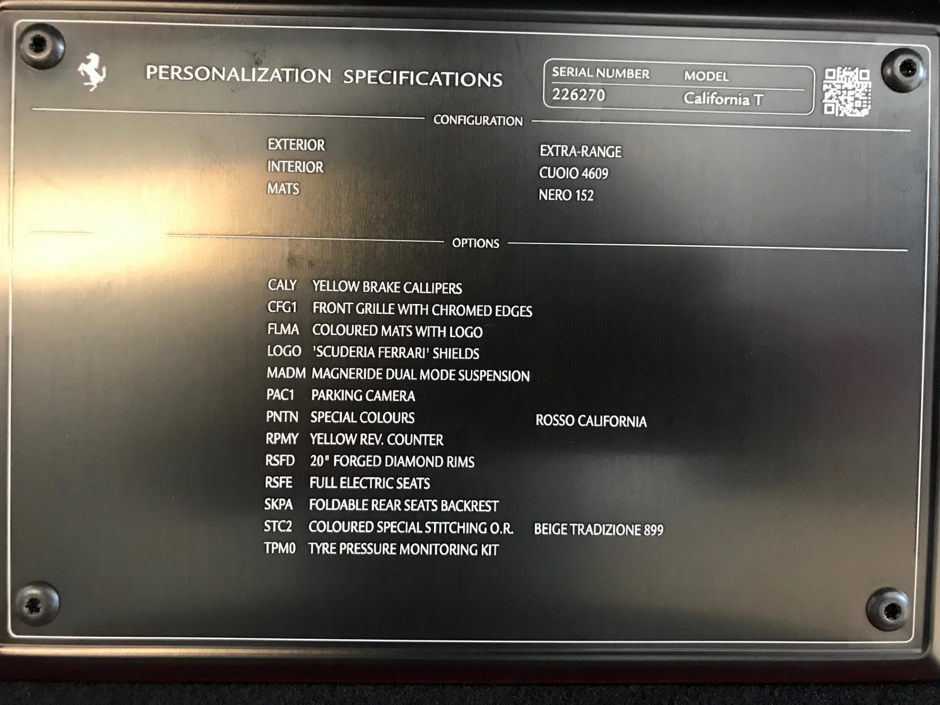 Used 2017 Ferrari California T  For Sale In Westport, CT 1395_p35