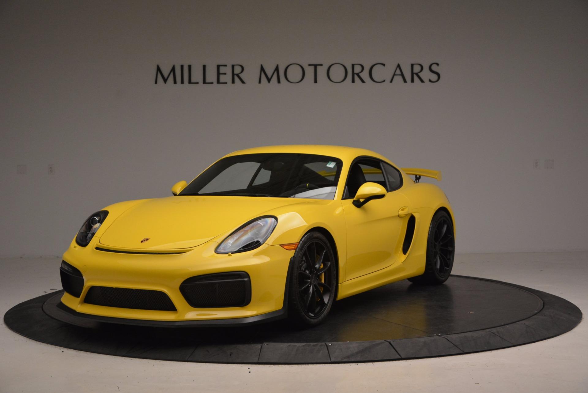 Used 2016 Porsche Cayman GT4 For Sale In Westport, CT 1401_main