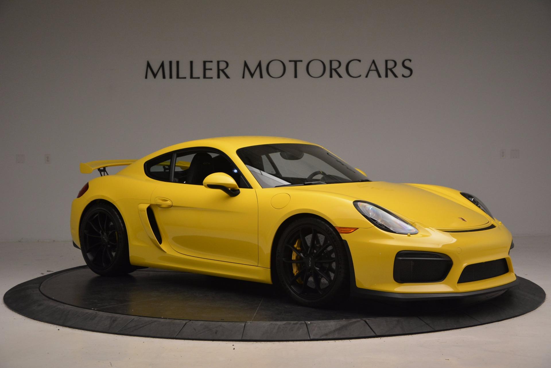 Used 2016 Porsche Cayman GT4 For Sale In Westport, CT 1401_p10