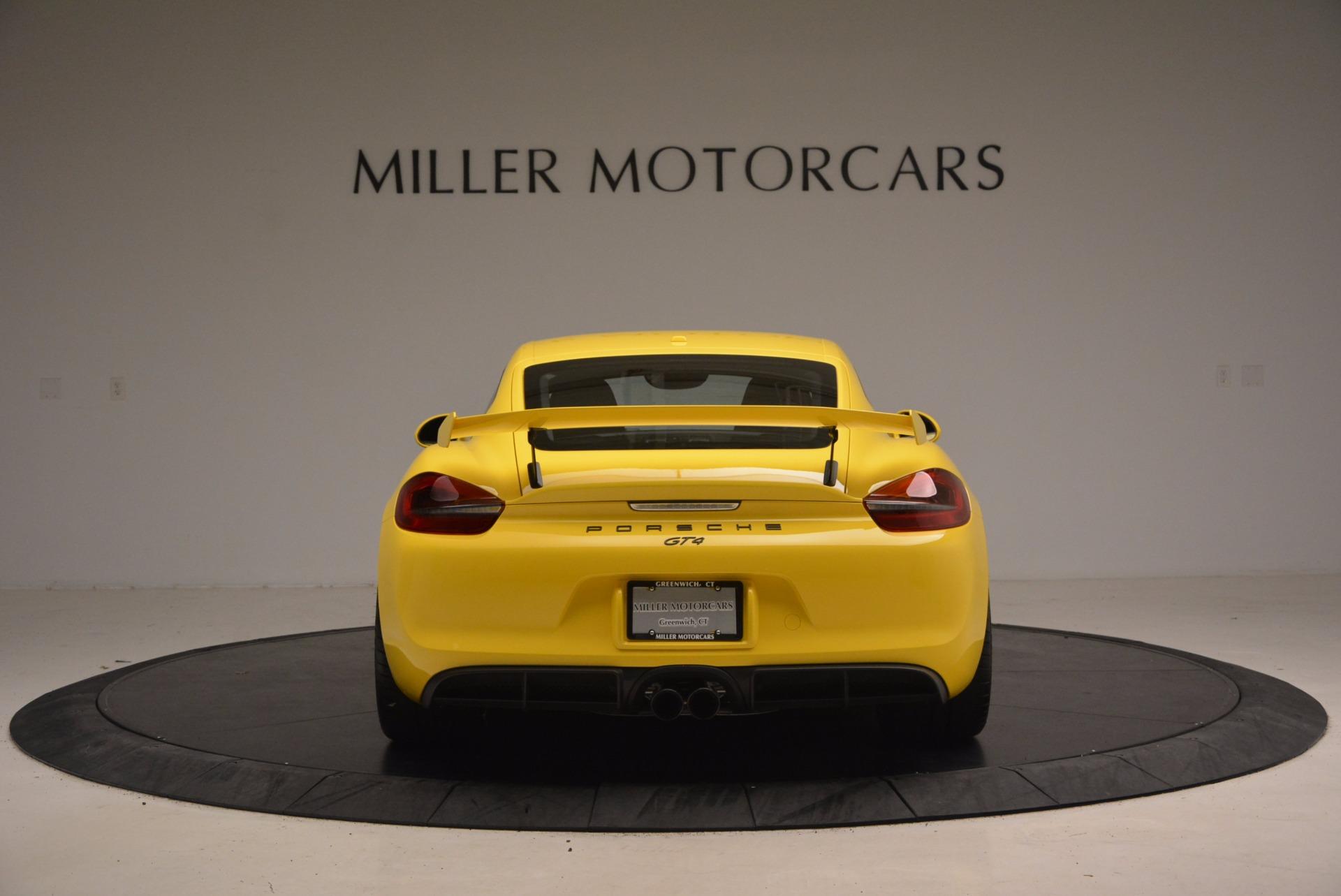 Used 2016 Porsche Cayman GT4 For Sale In Westport, CT 1401_p6